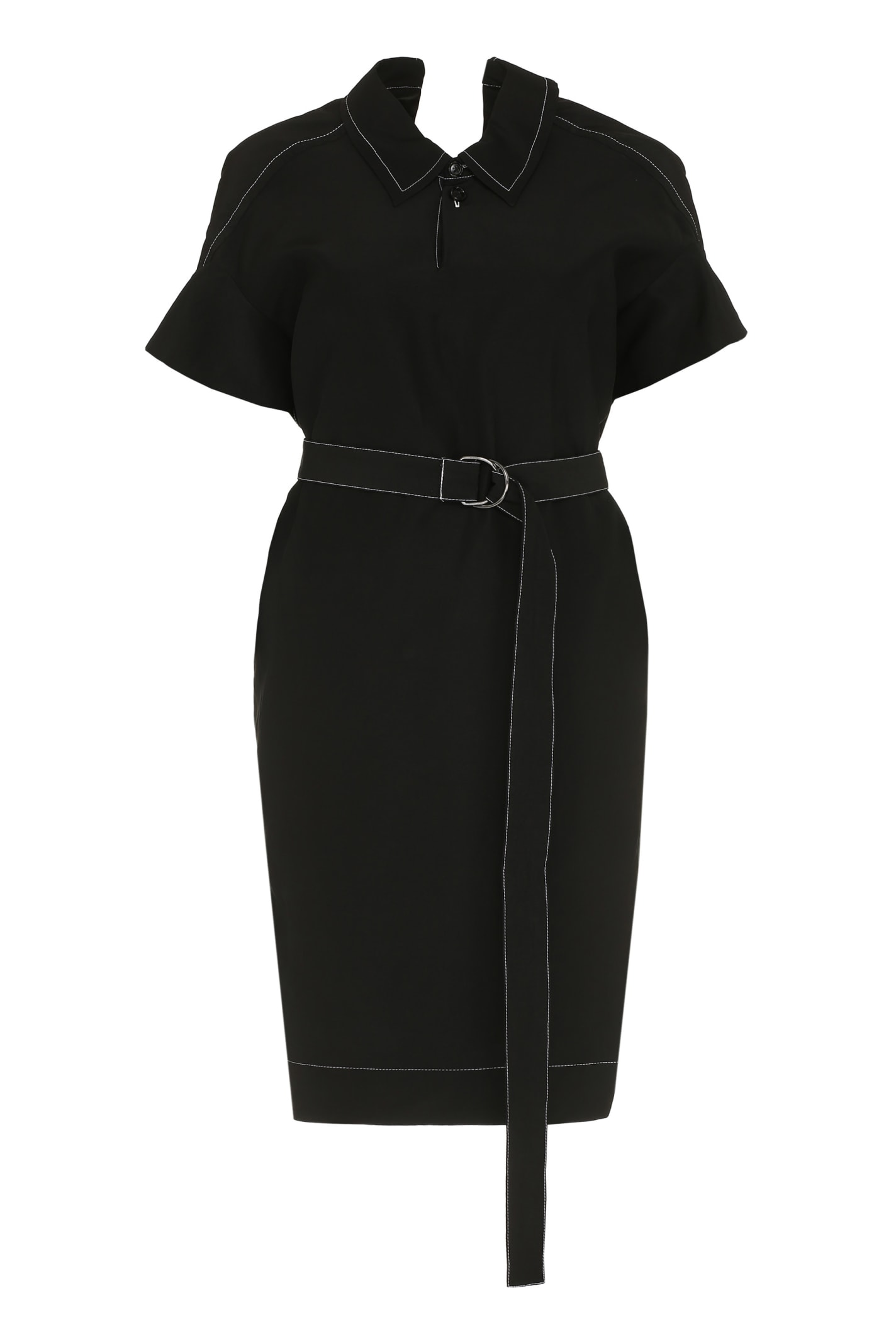Buy Marni Belted Waist Dress online, shop Marni with free shipping