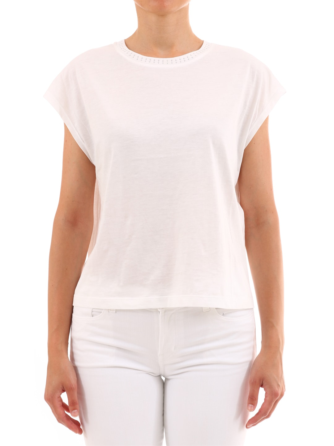 Celine T-shirt White Cotton