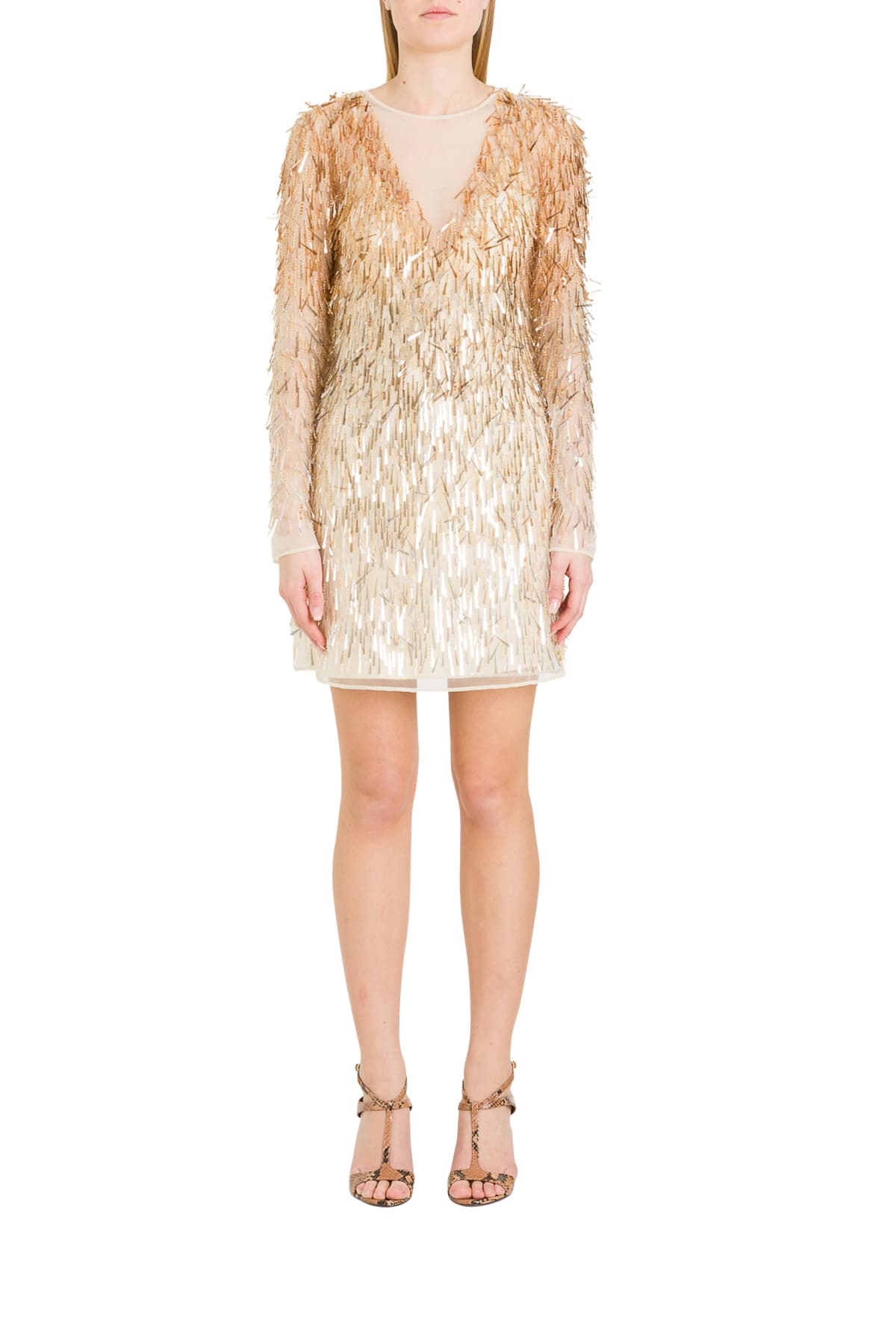 Buy Alberta Ferretti Sequined Dress online, shop Alberta Ferretti with free shipping