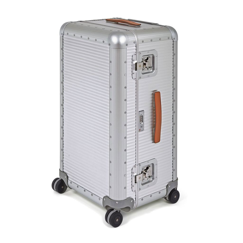 Aluminum Bank-trunk On Wheels L