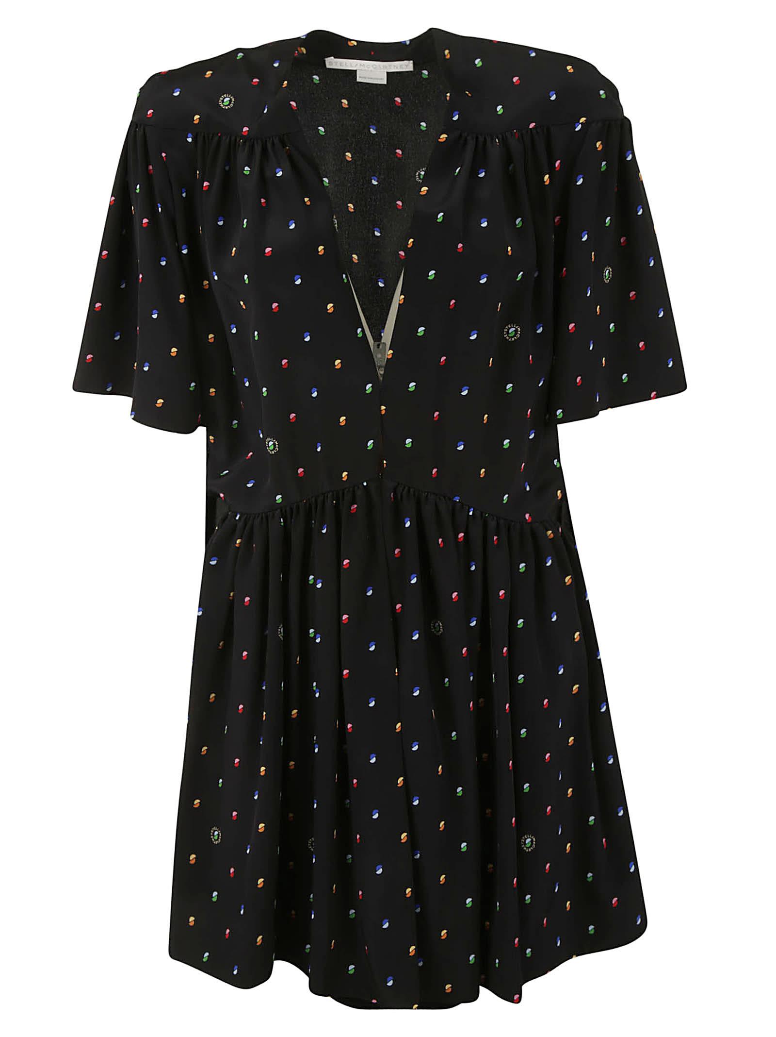 Stella McCartney Printed Short Dress