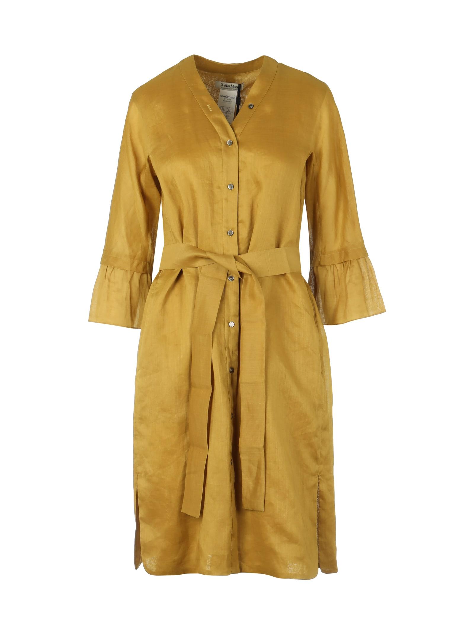 Buy S Max Mara Aloe Dress online, shop S Max Mara with free shipping