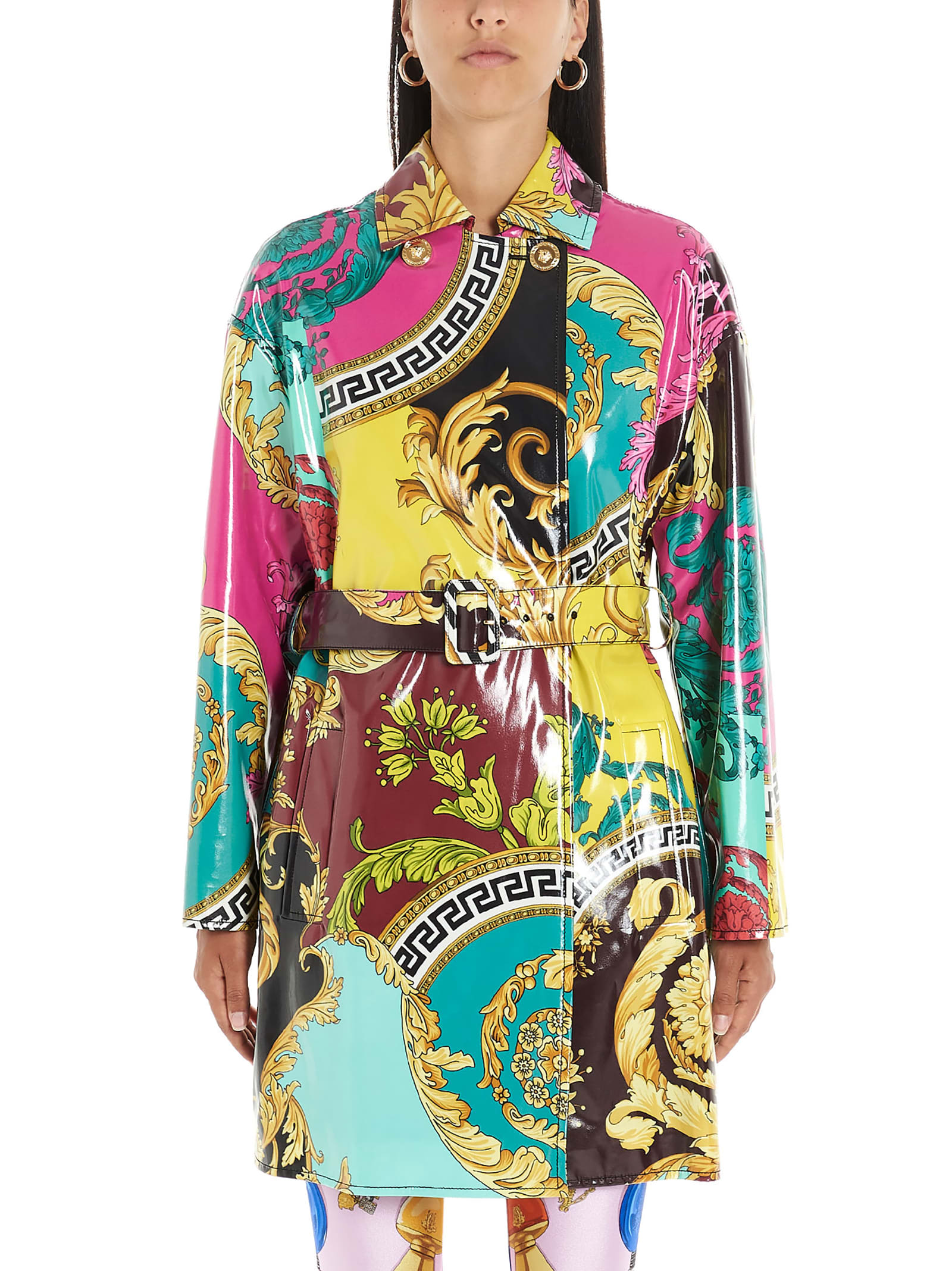 Buy Versace barocco Voyage Dress online, shop Versace with free shipping