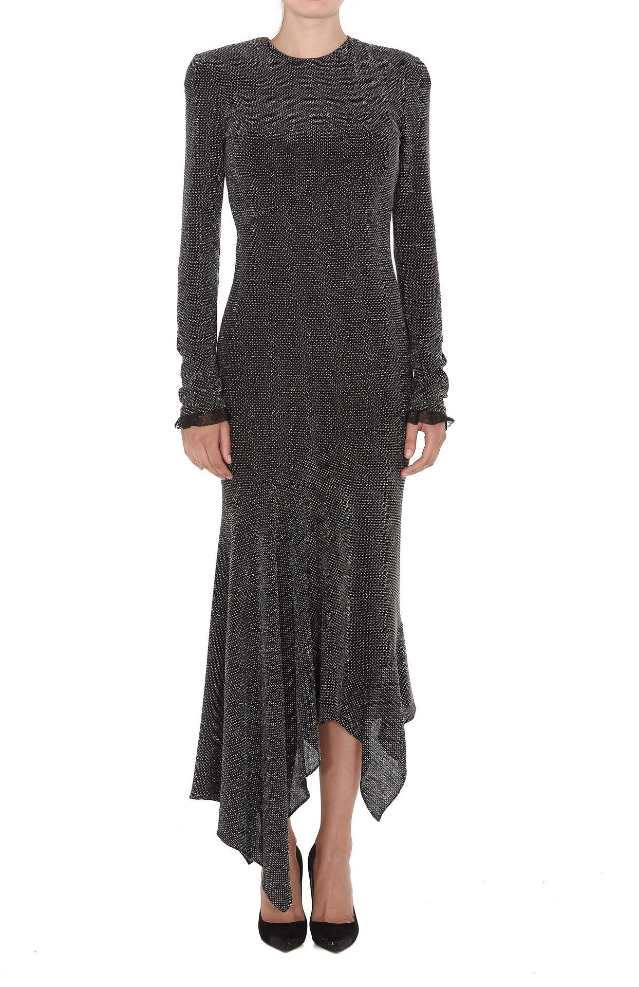 Philosophy Di Lorenzo Serafini Metallic Effect Dress