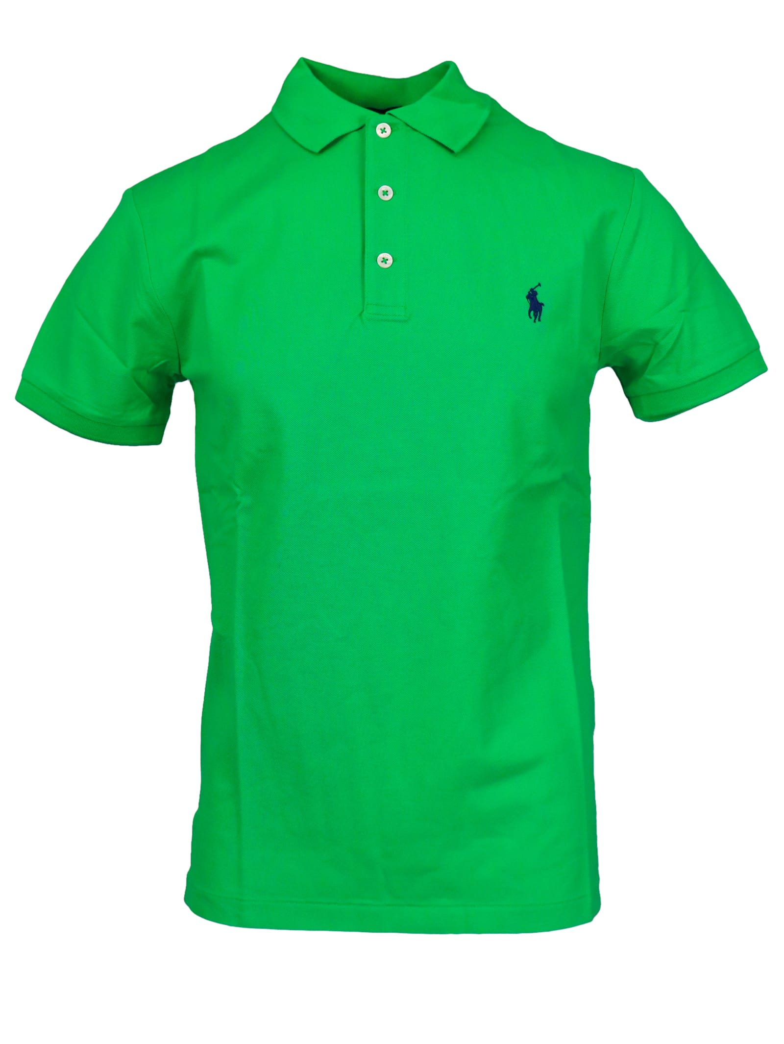 Polo Ralph Lauren Cotton Piquet Stretch Polo