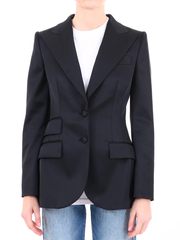 Dolce & Gabbana Jacket Black Satin