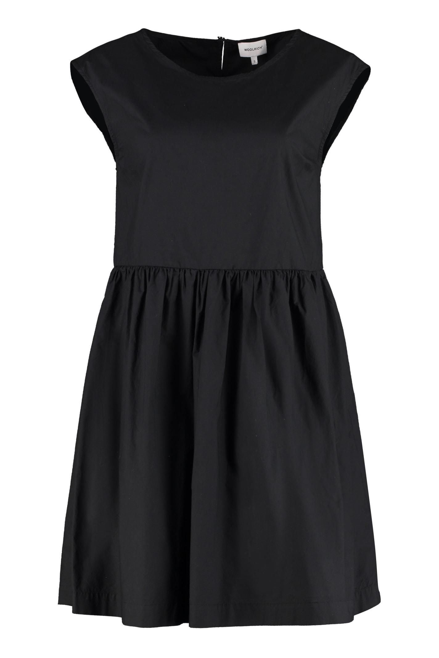 Buy Woolrich Poplin Mini Dress online, shop Woolrich with free shipping