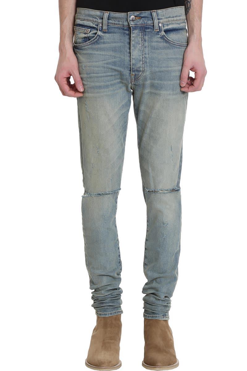 AMIRI Jeans In Blue Denim