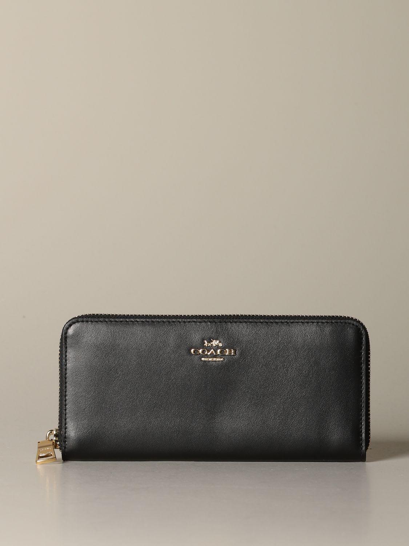 Coach Wallet Coach Continental Wallet In Calfskin