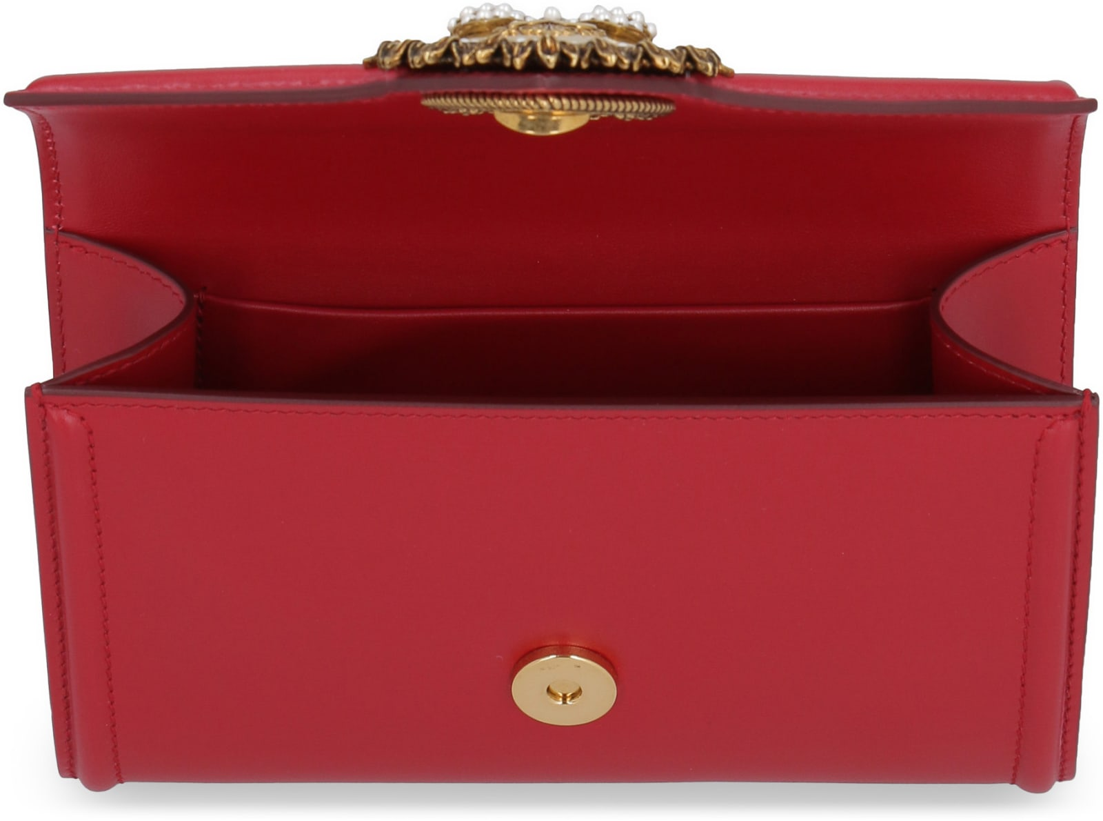 1217478c400 Dolce & Gabbana Devotion Leather Belt Bag