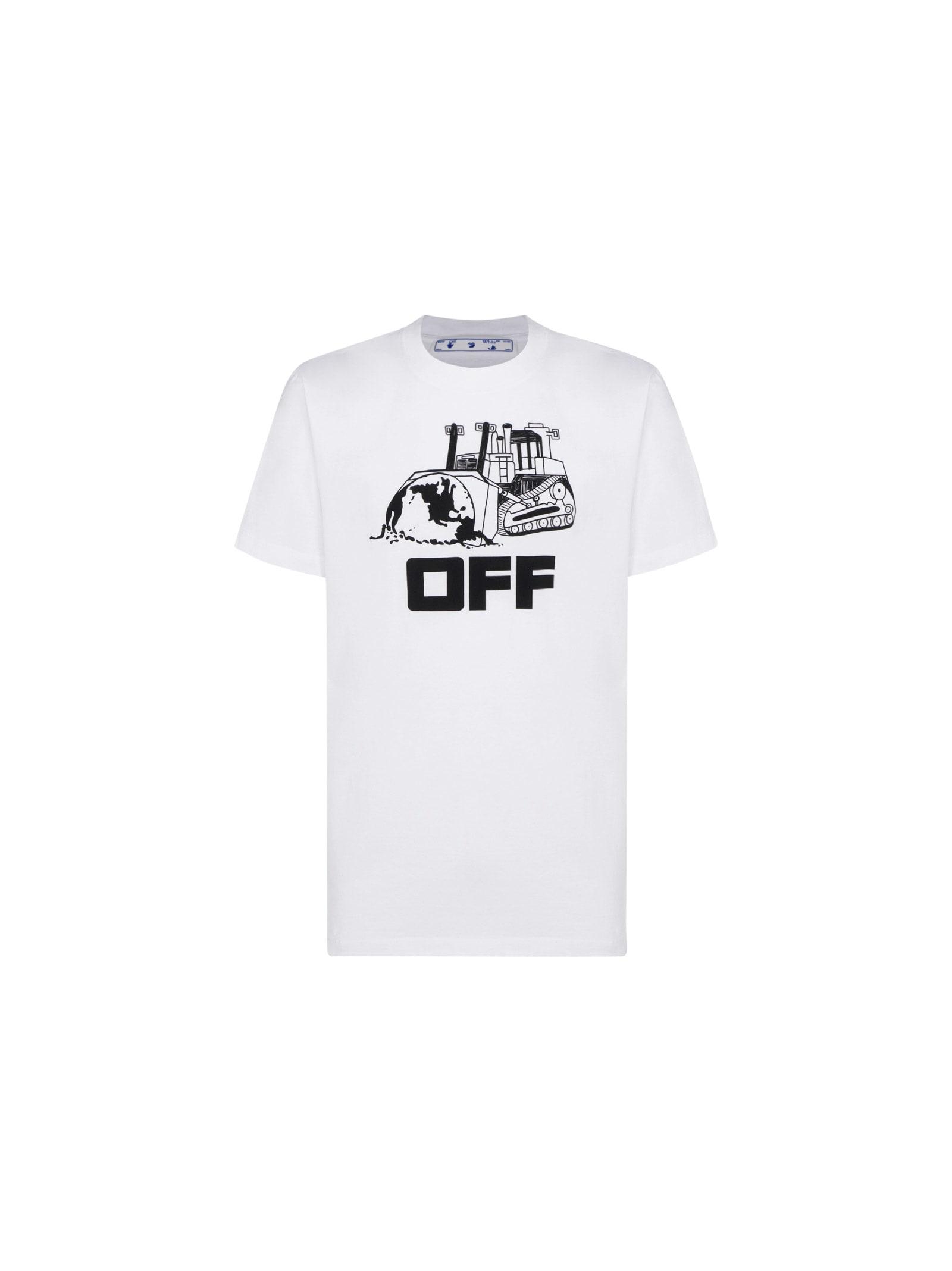 Off-White OFF-WHITE CATERPILLA T-SHIRT