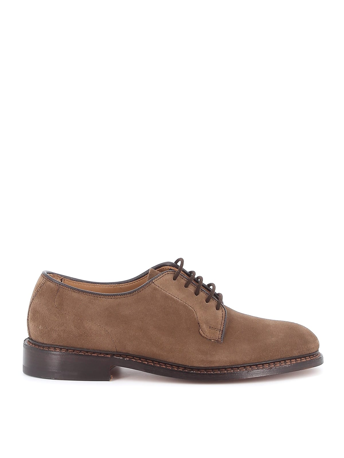Trickers Robert Plain Derby Castorino Suede