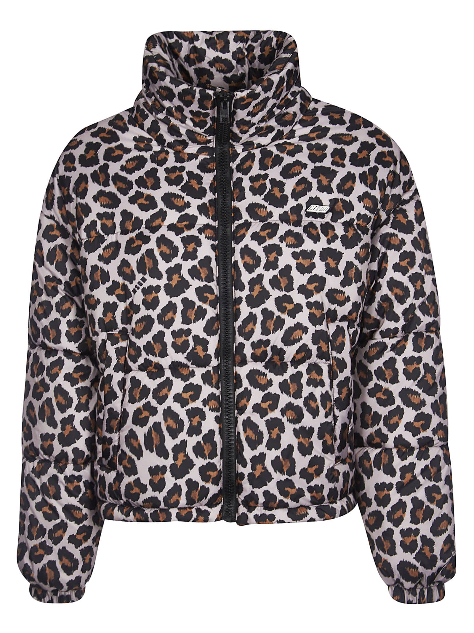 Animal Print Padded Jacket