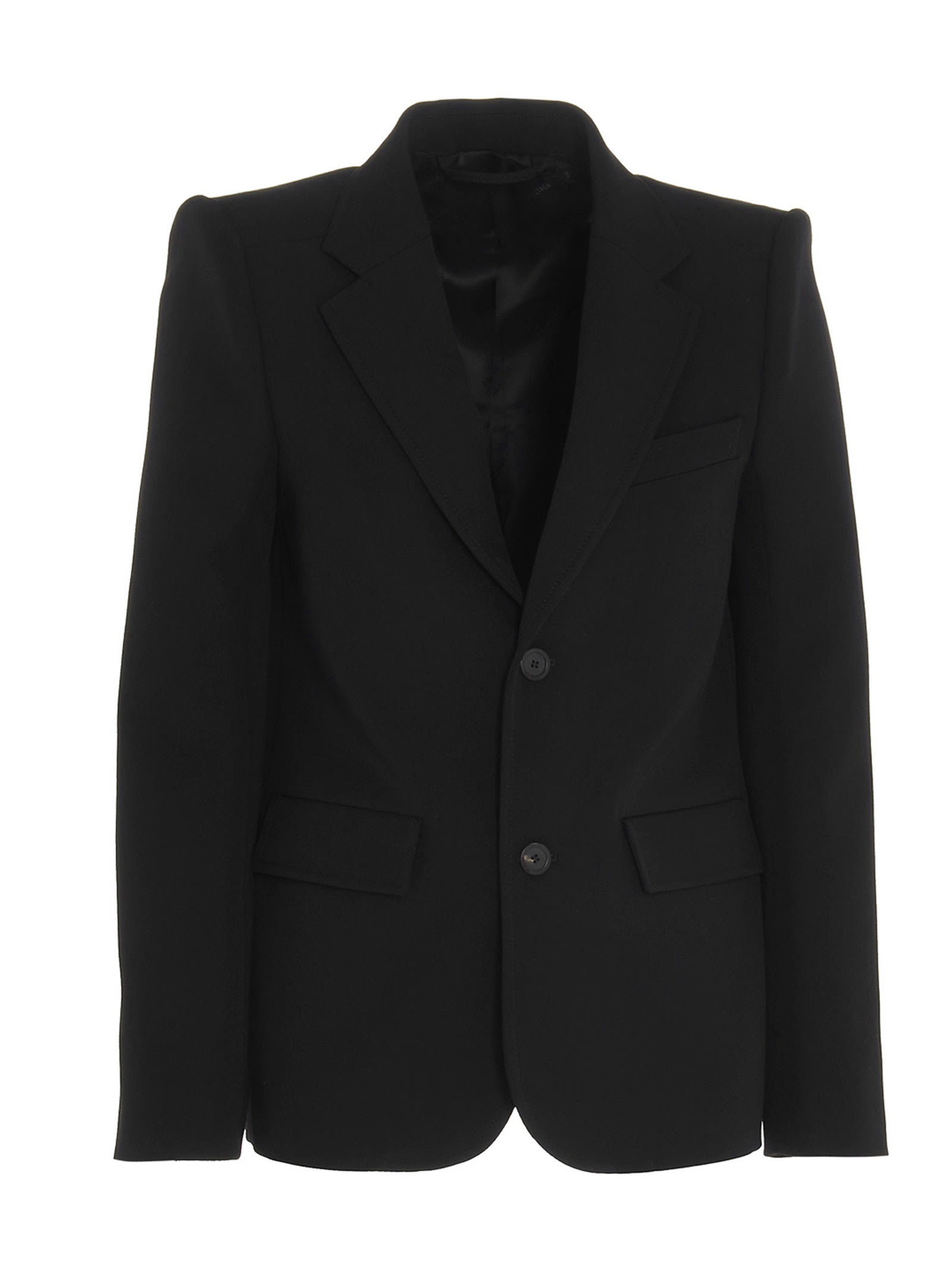 Balenciaga curve Shoulder Blazer