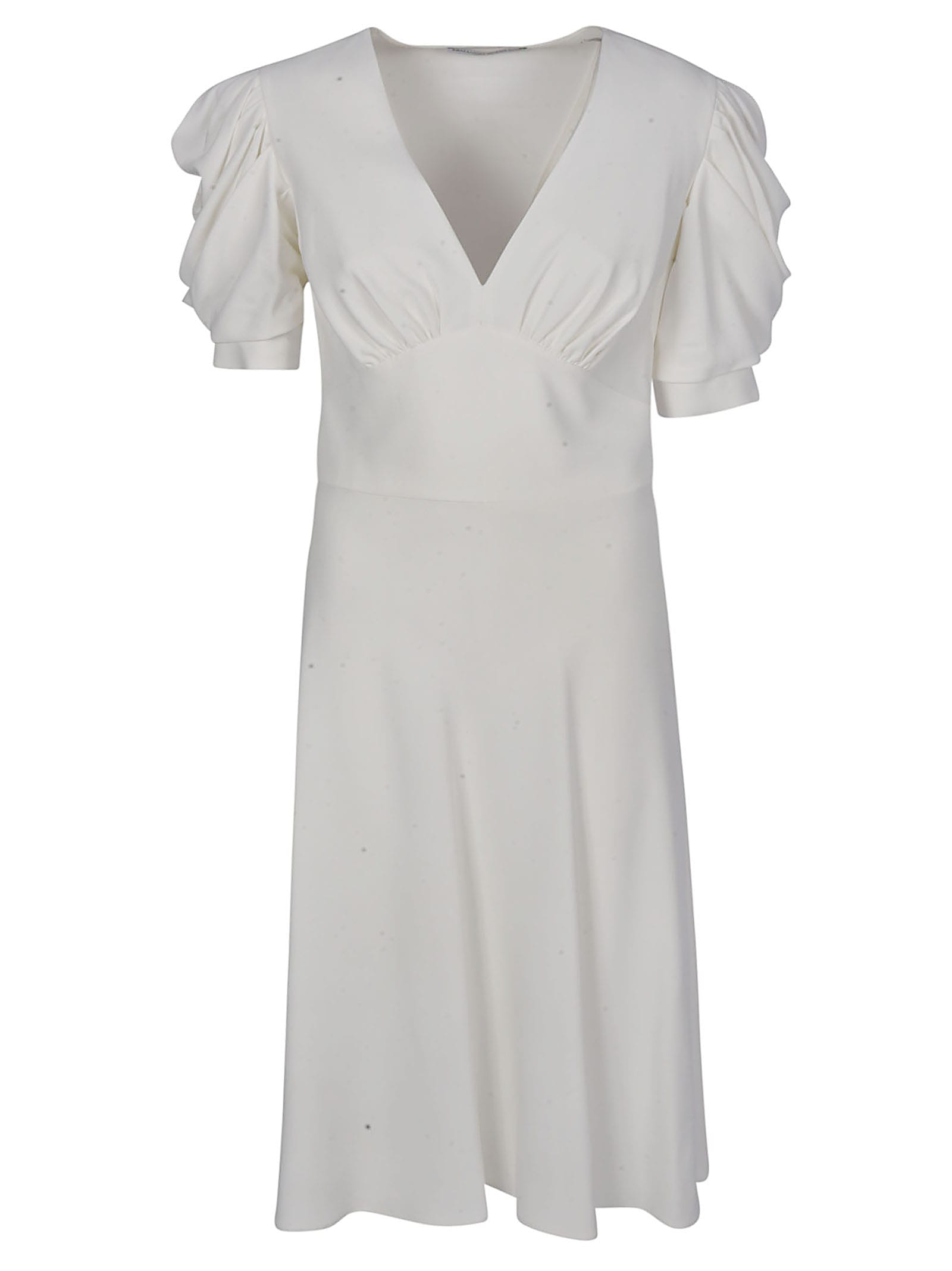 Buy Ermanno Scervino Ruffled Sleeve Dress online, shop Ermanno Scervino with free shipping