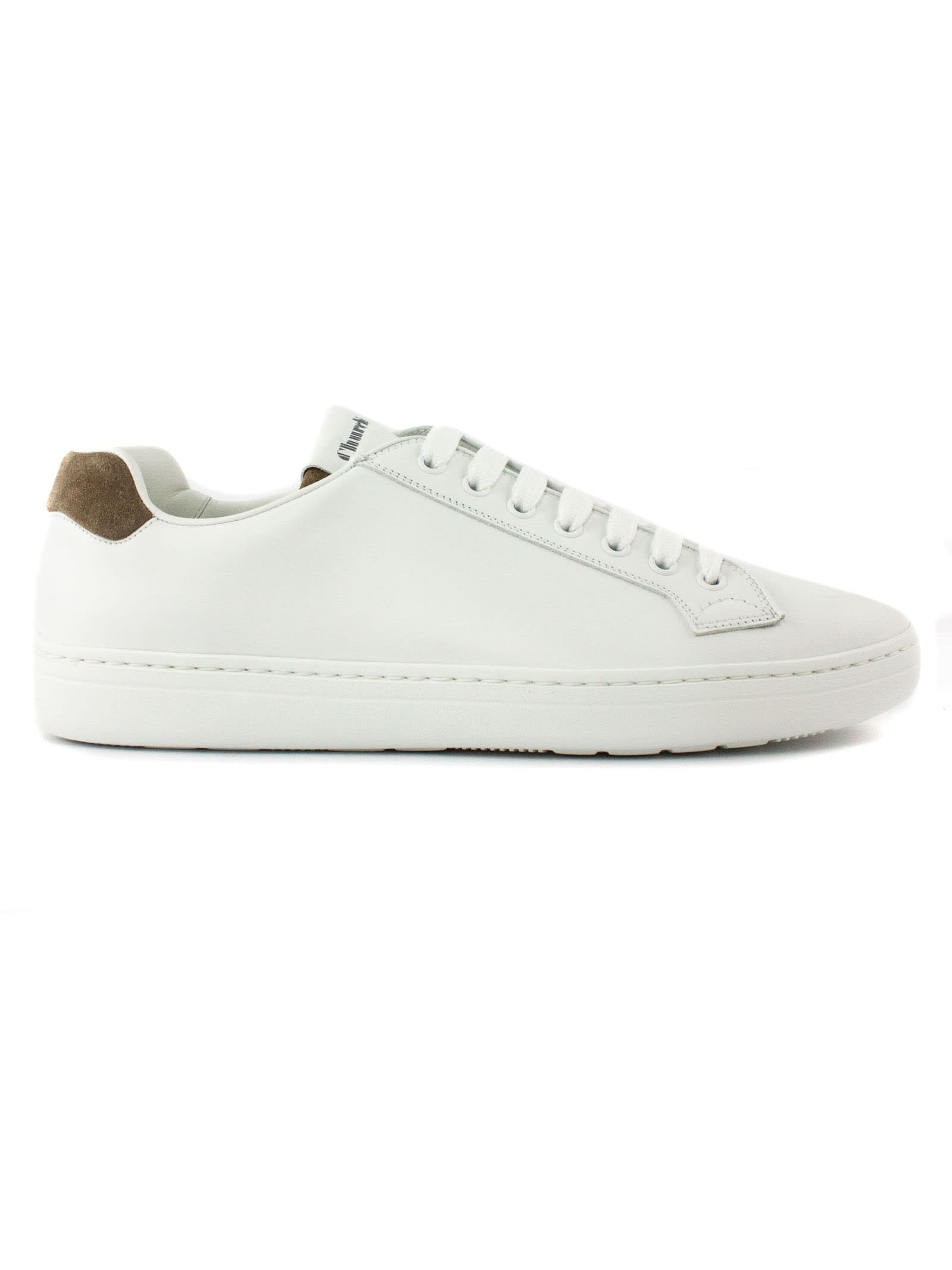 Church's WHITE CLASSIC LACE-UP SNEAKER
