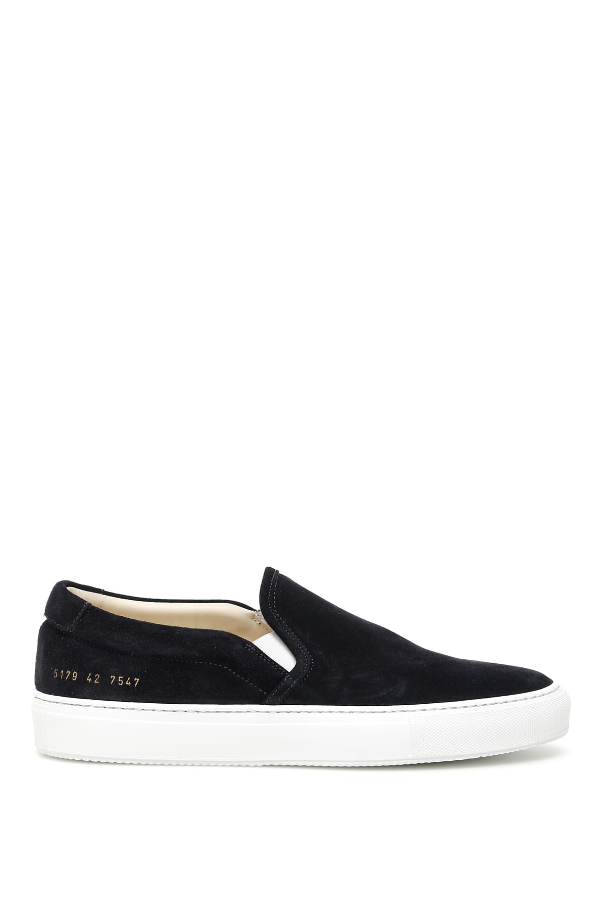 online here hot sale online special section Common Projects Common Projects Suede Slip-ons - BLACK ...