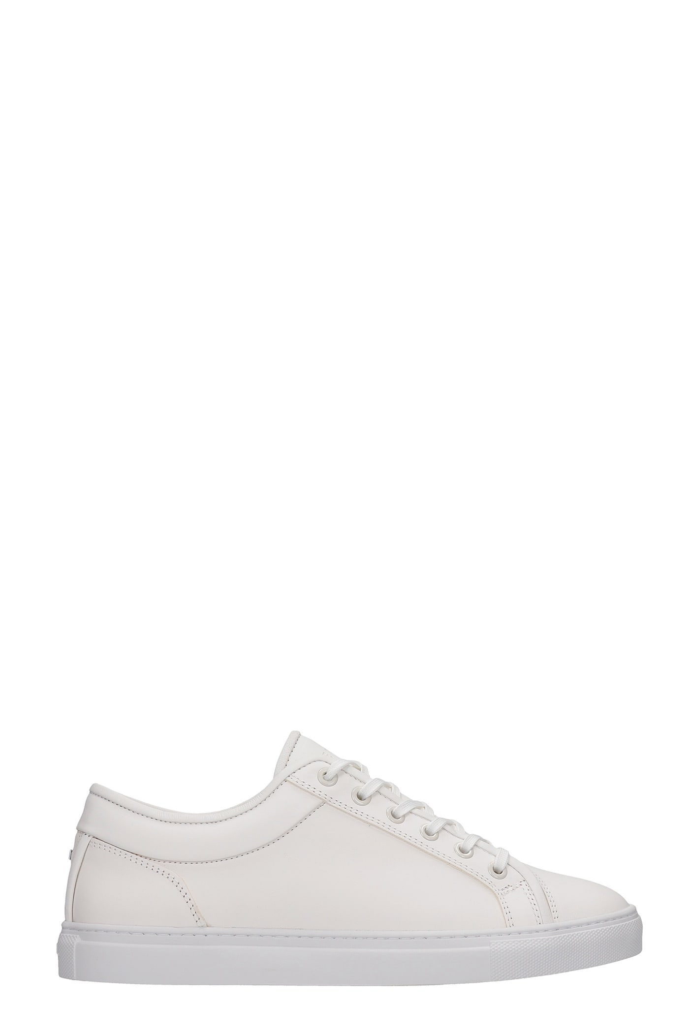 Lt 01 Sneakers In White Leather