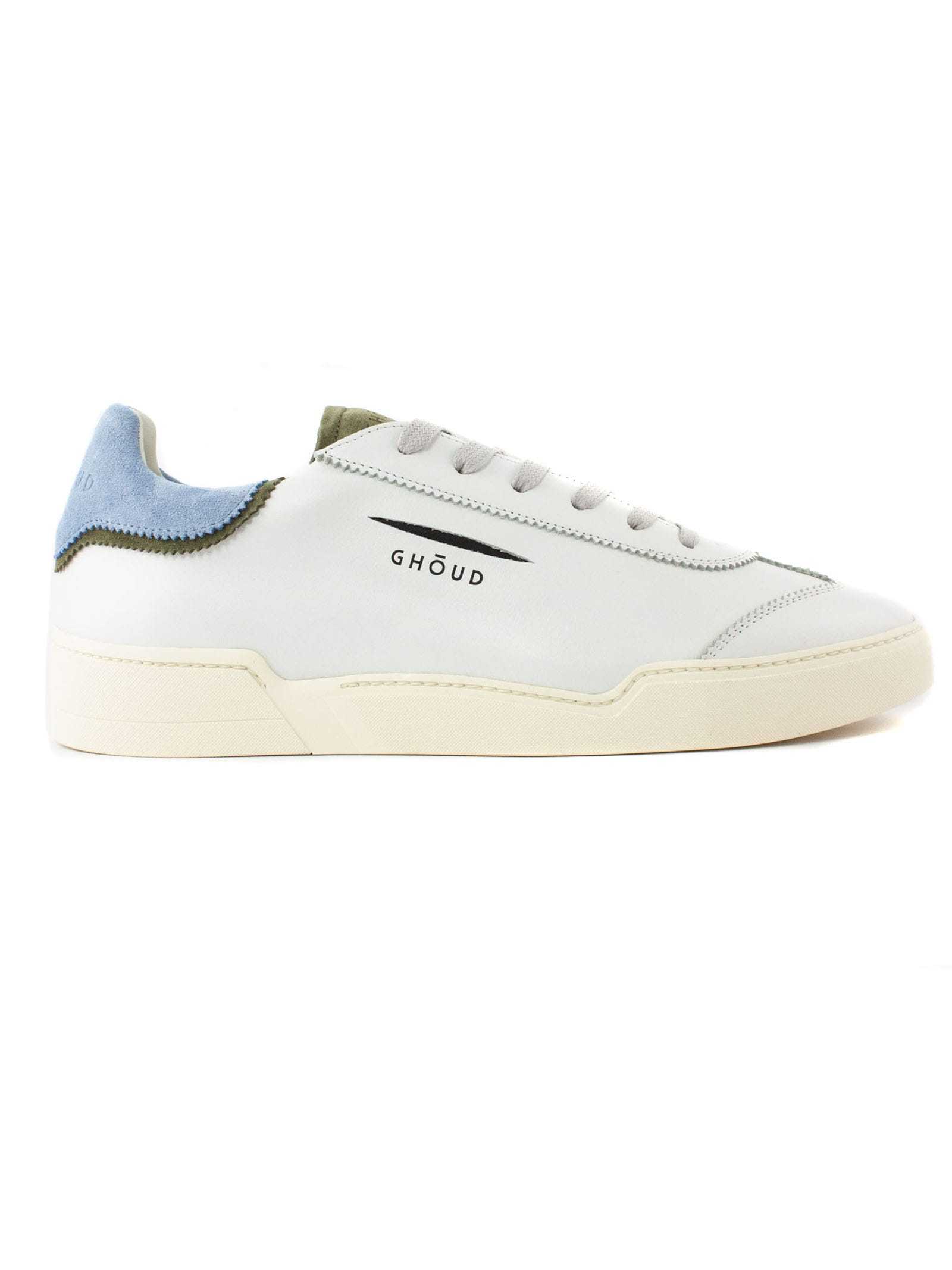 Ghoud Leathers WHITE LEATHER SNEAKERS