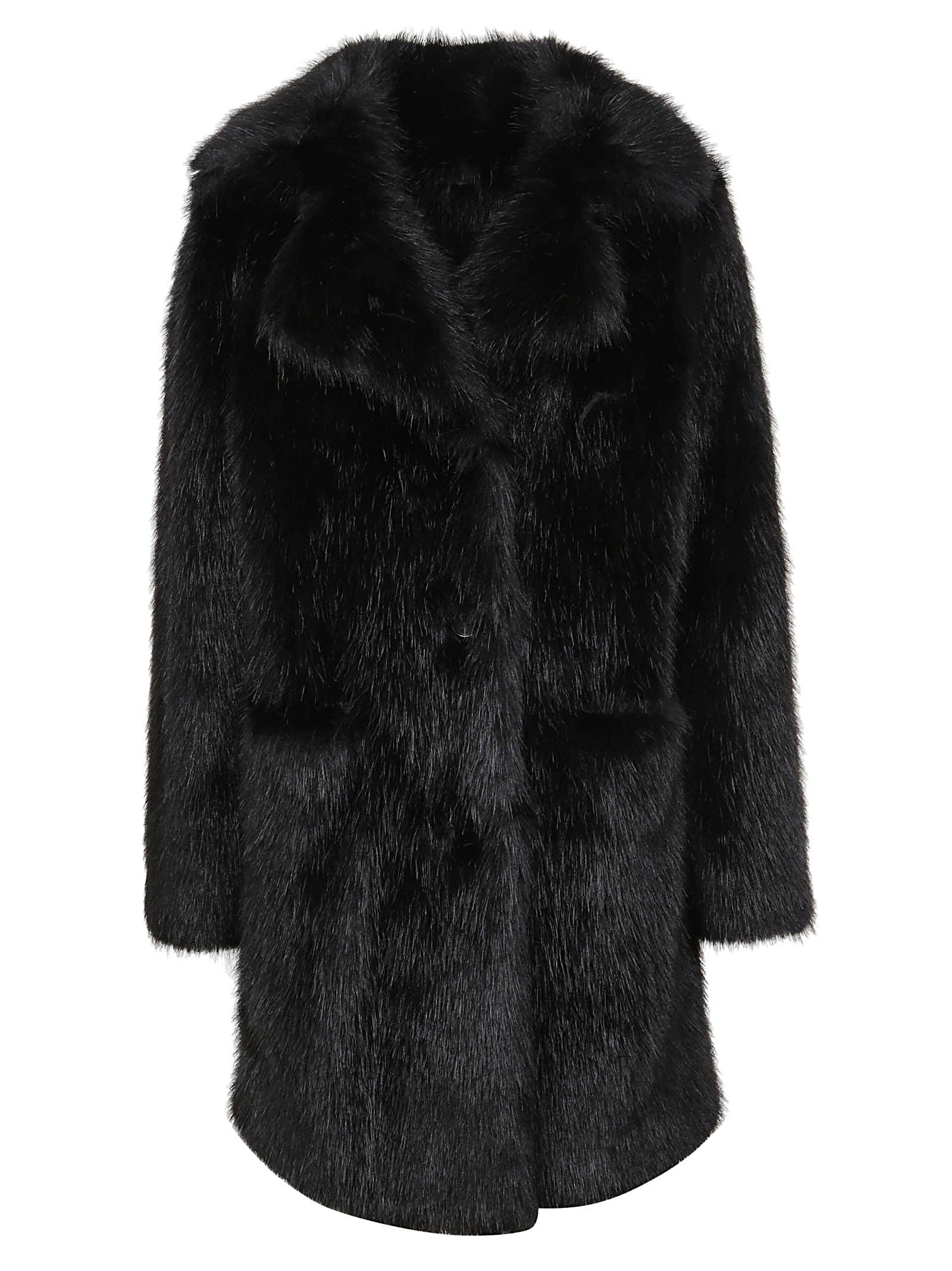 Parosh Foux Fur Coat