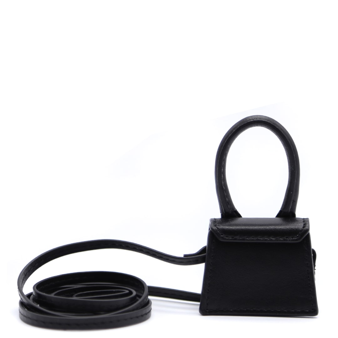 Cheap And Nice Jacquemus Le Petit Chiquito Black Leather Bag