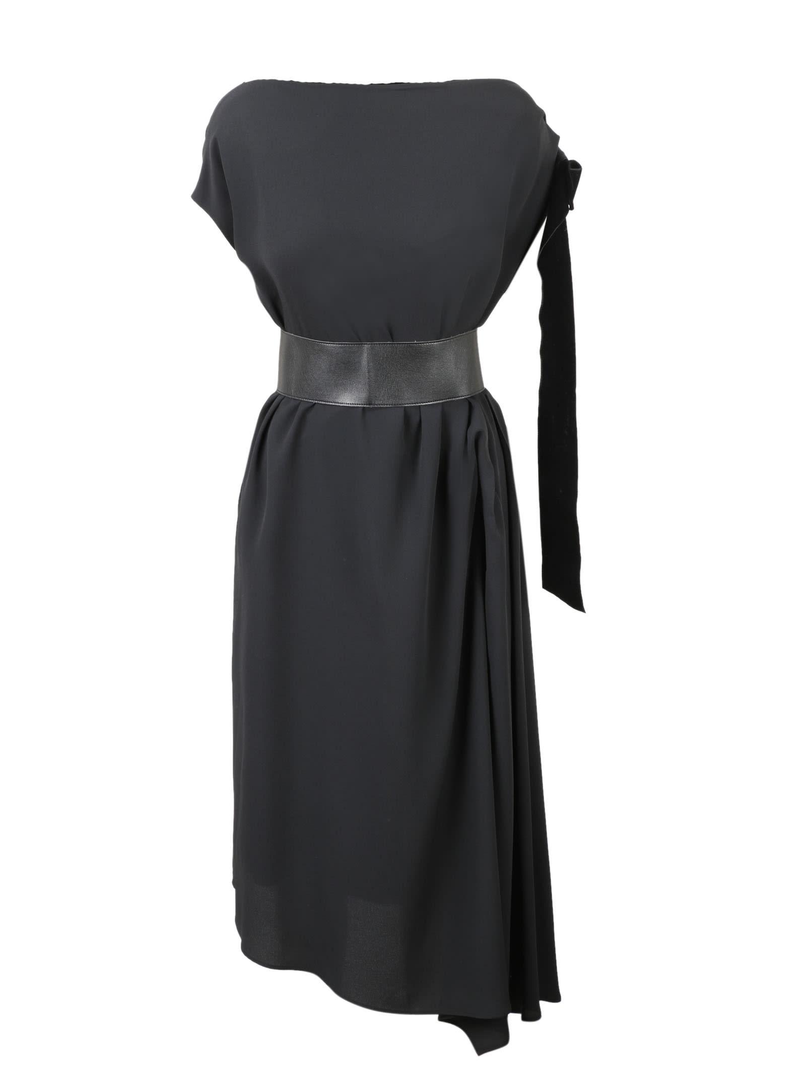 Bow And Sash Dress