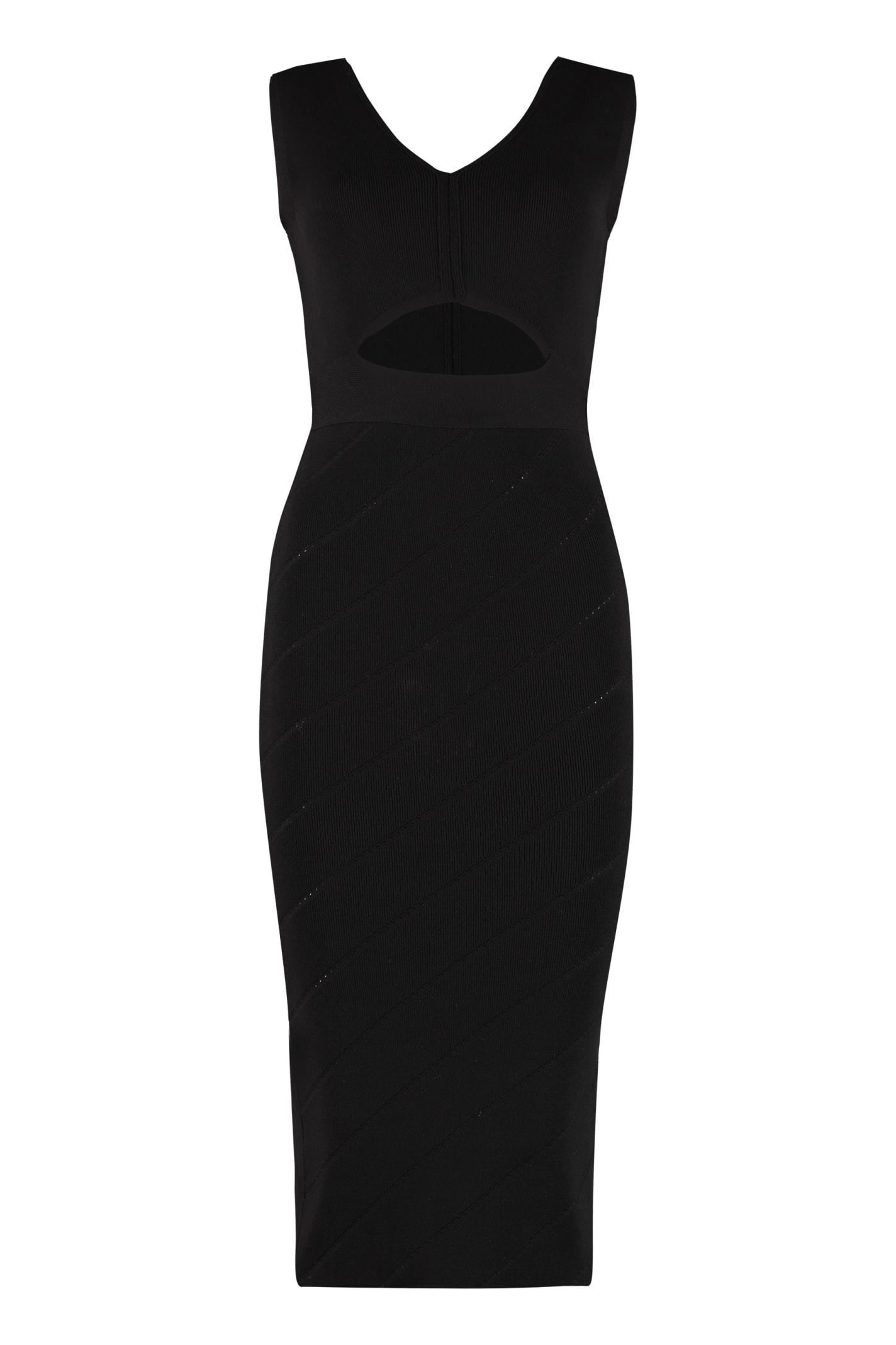 Buy Pinko Nauru Knitted Sheath Dress online, shop Pinko with free shipping