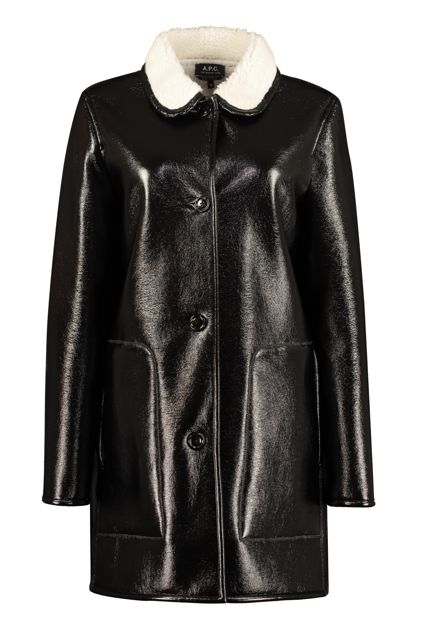A.p.c. Linings POUPEE FAUX SHEEPSKIN COAT