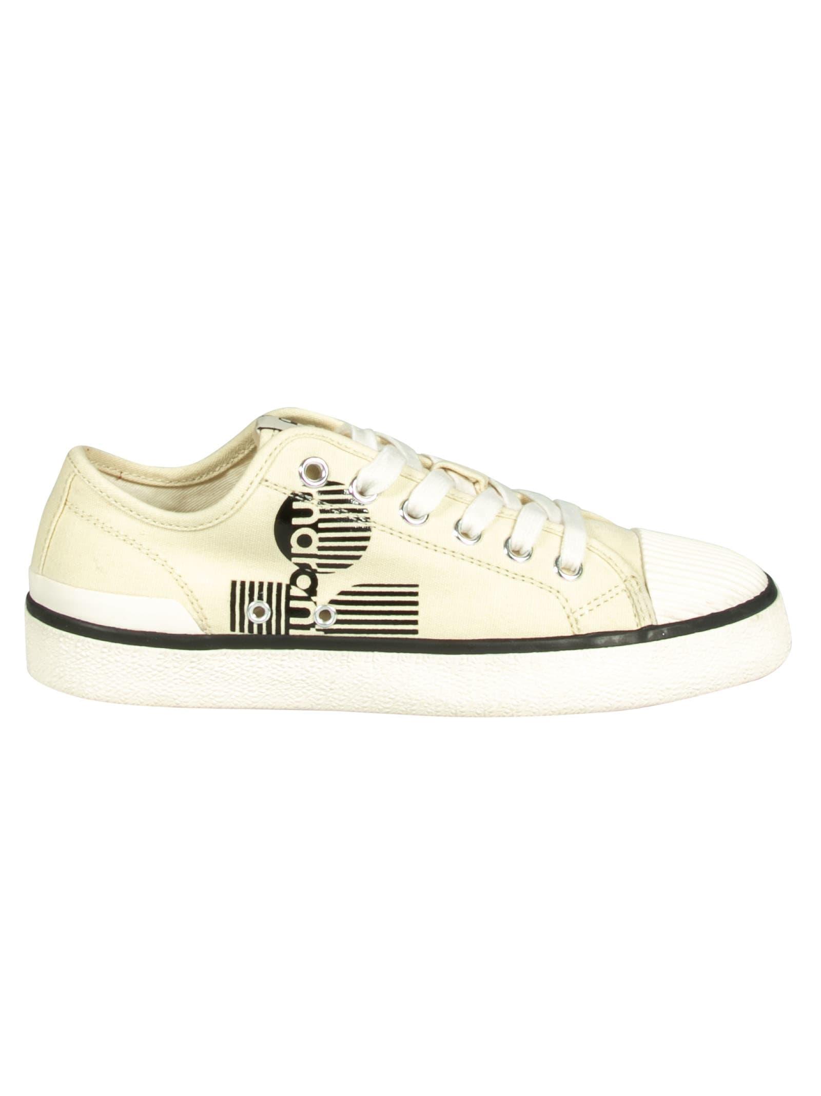 Isabel Marant Canvas Logo Ten Sneakers