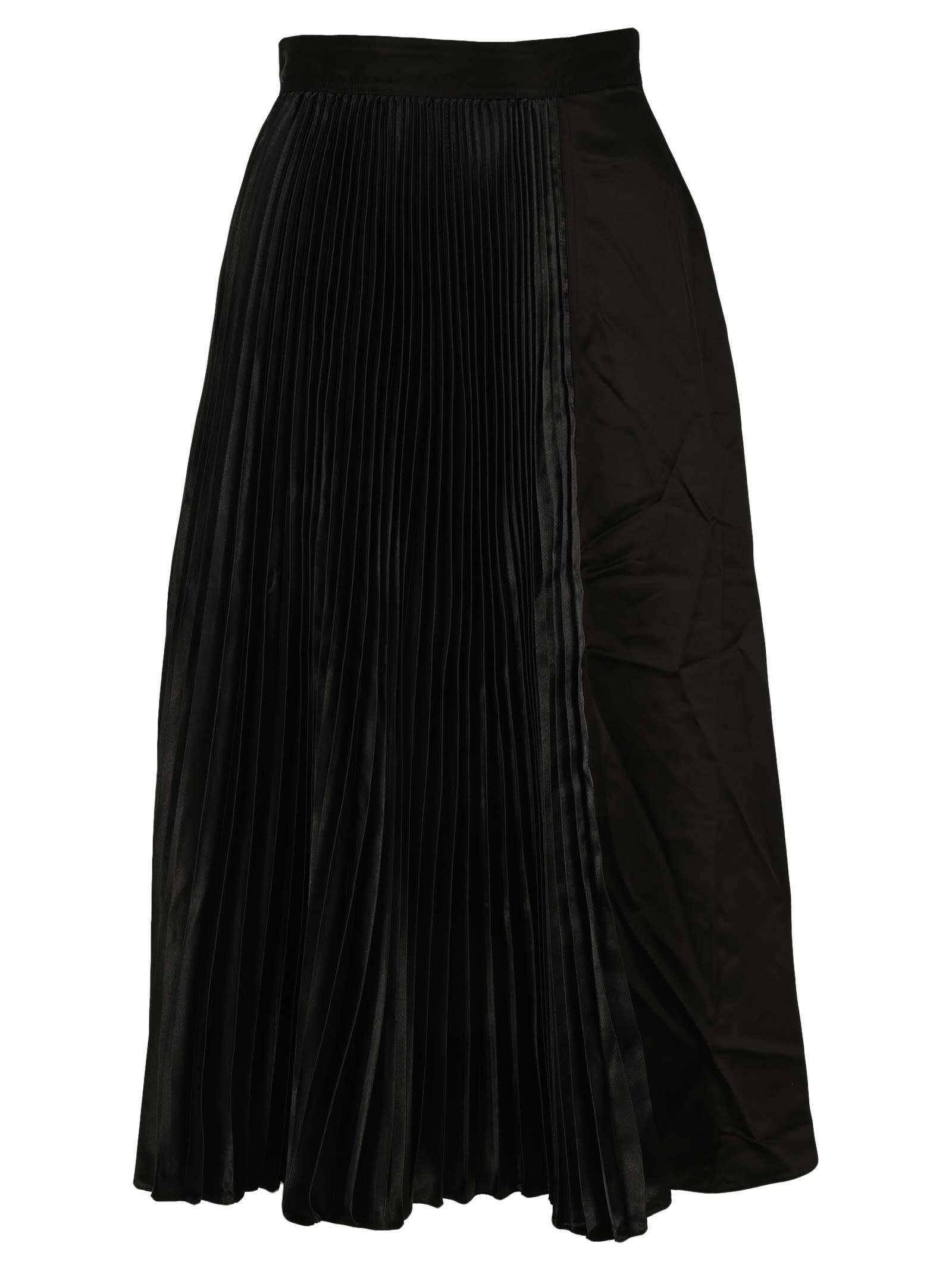 Jw Anderson Pleated Midi Skirt