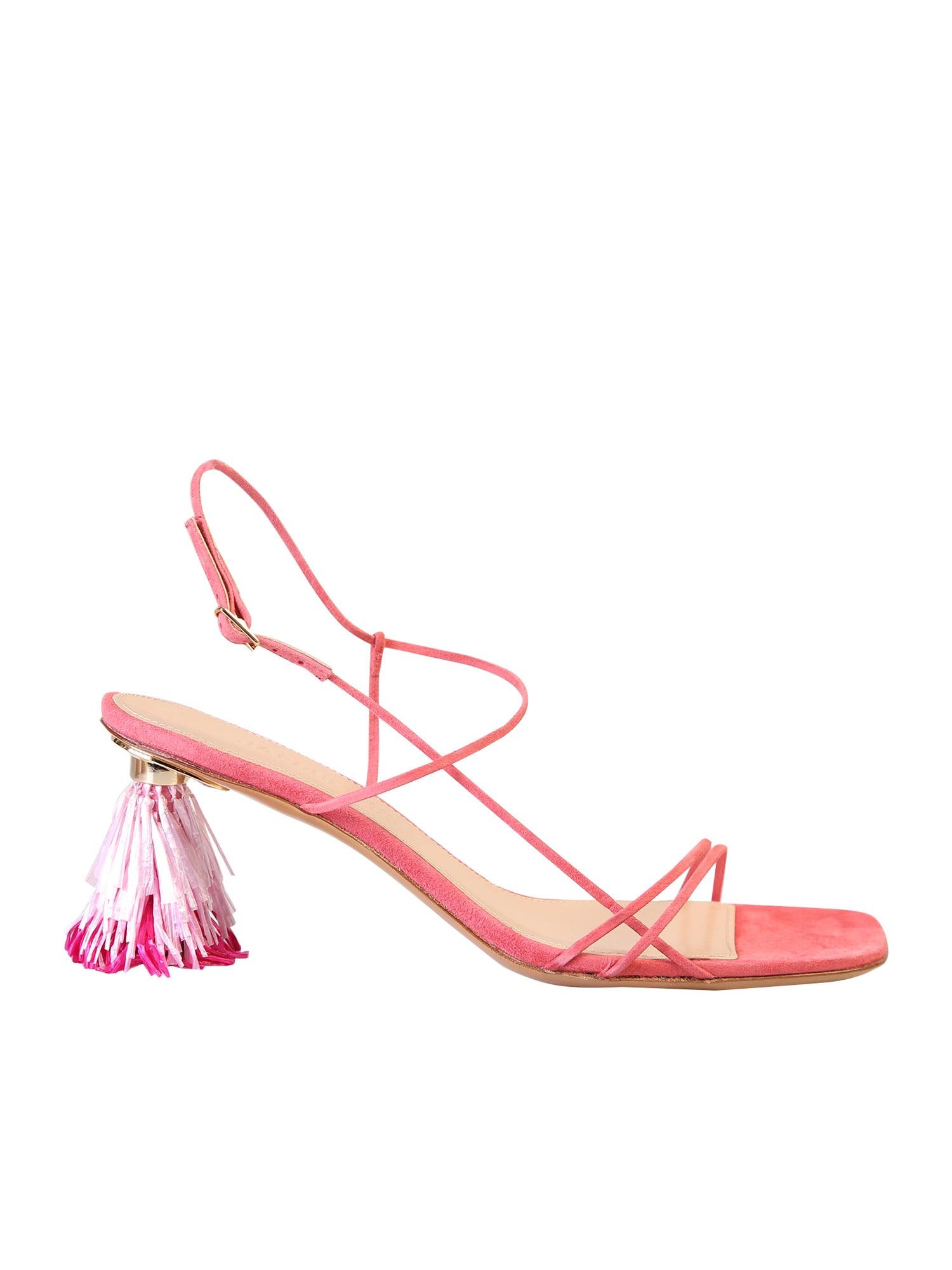 Jacquemus Square Toe Sandals