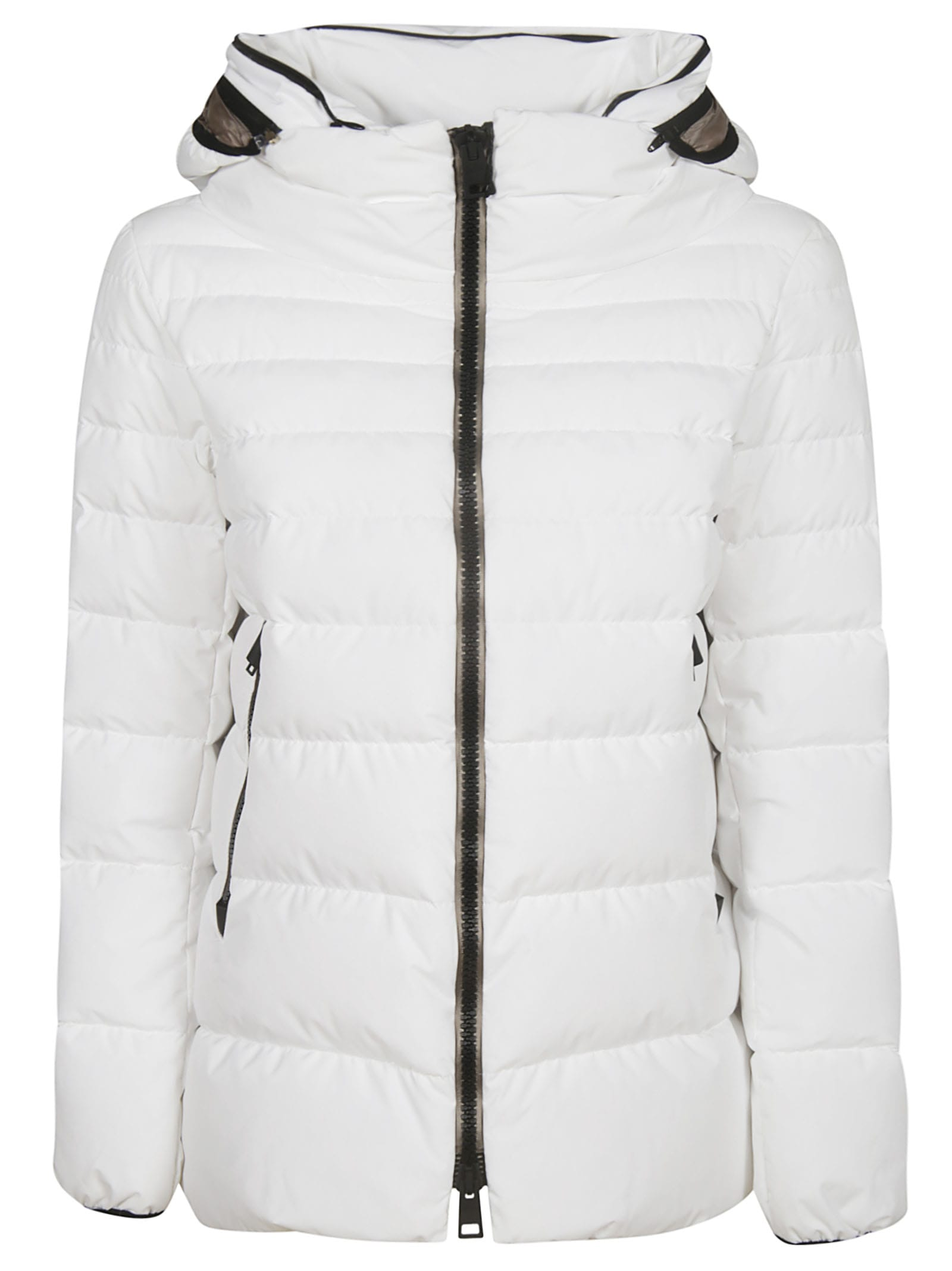 Herno Classic Side-zipped Hooded Padded Jacket