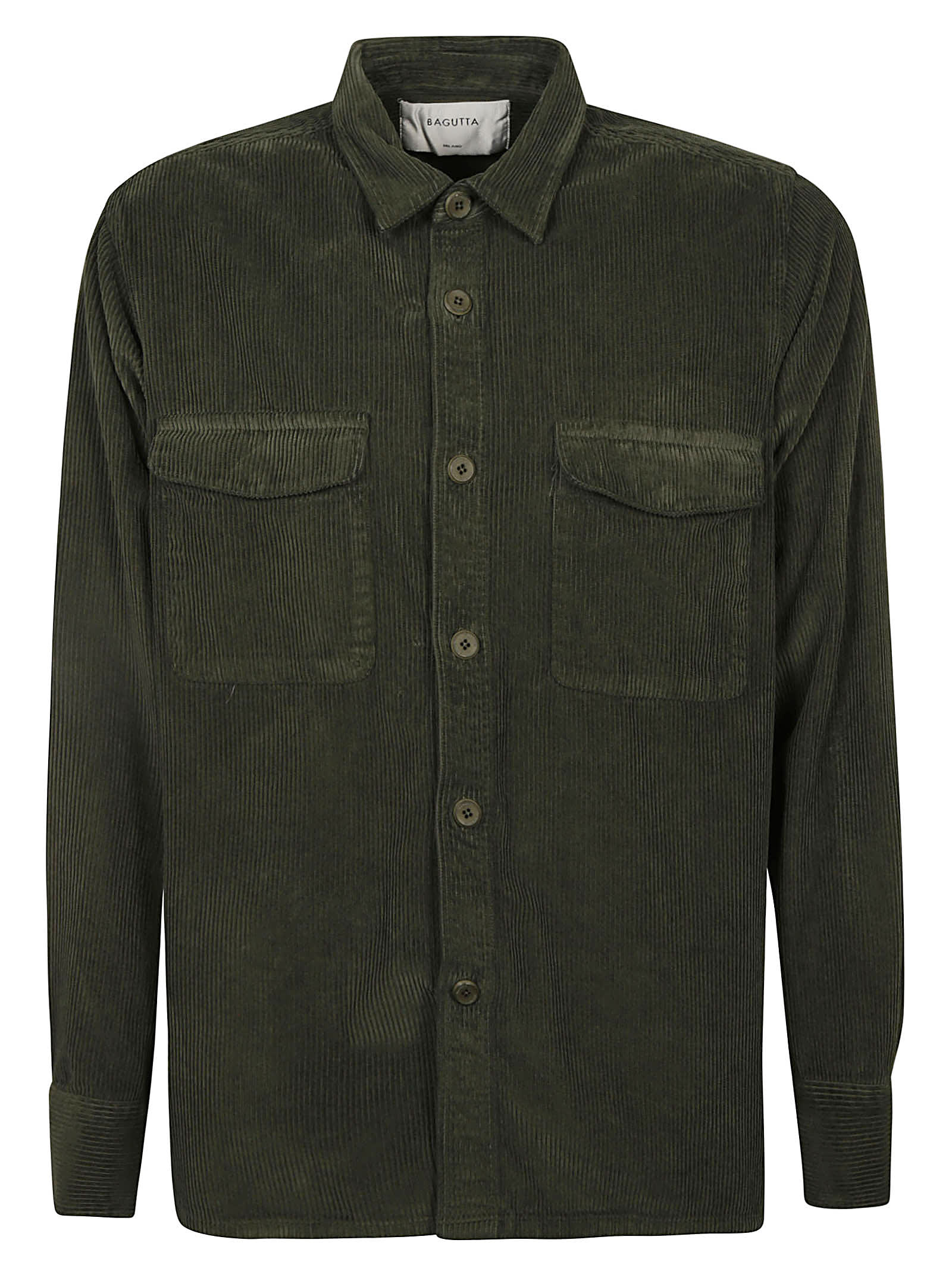 Cargo Pocket Long-sleeved Shirt