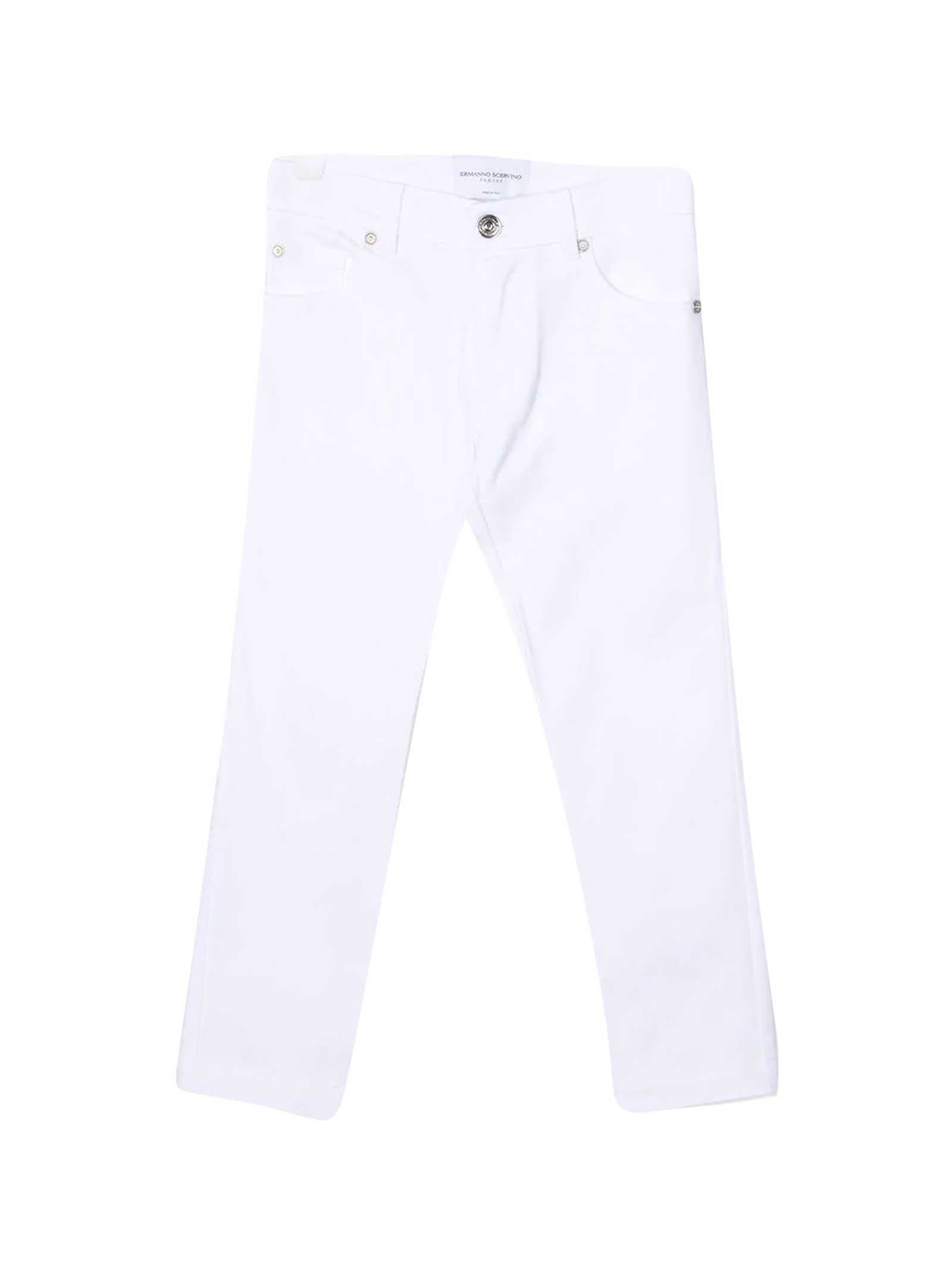 White Slim Jeans