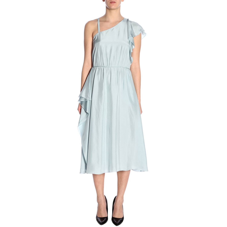 Buy Emporio Armani Dress Dress Women Emporio Armani online, shop Emporio Armani with free shipping