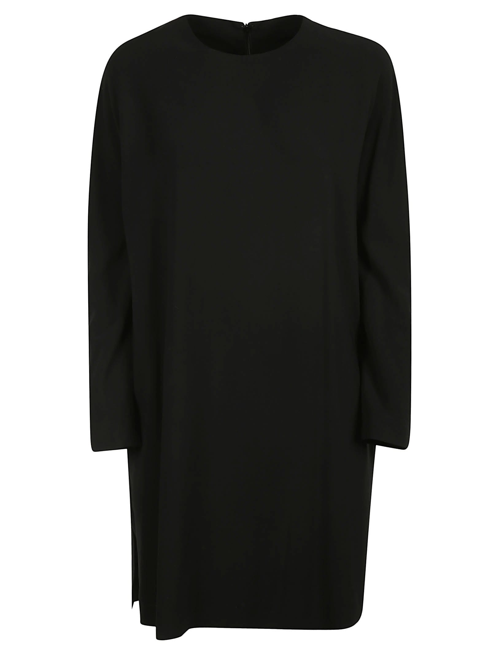 Aspesi Round Neck Mid-length Dress
