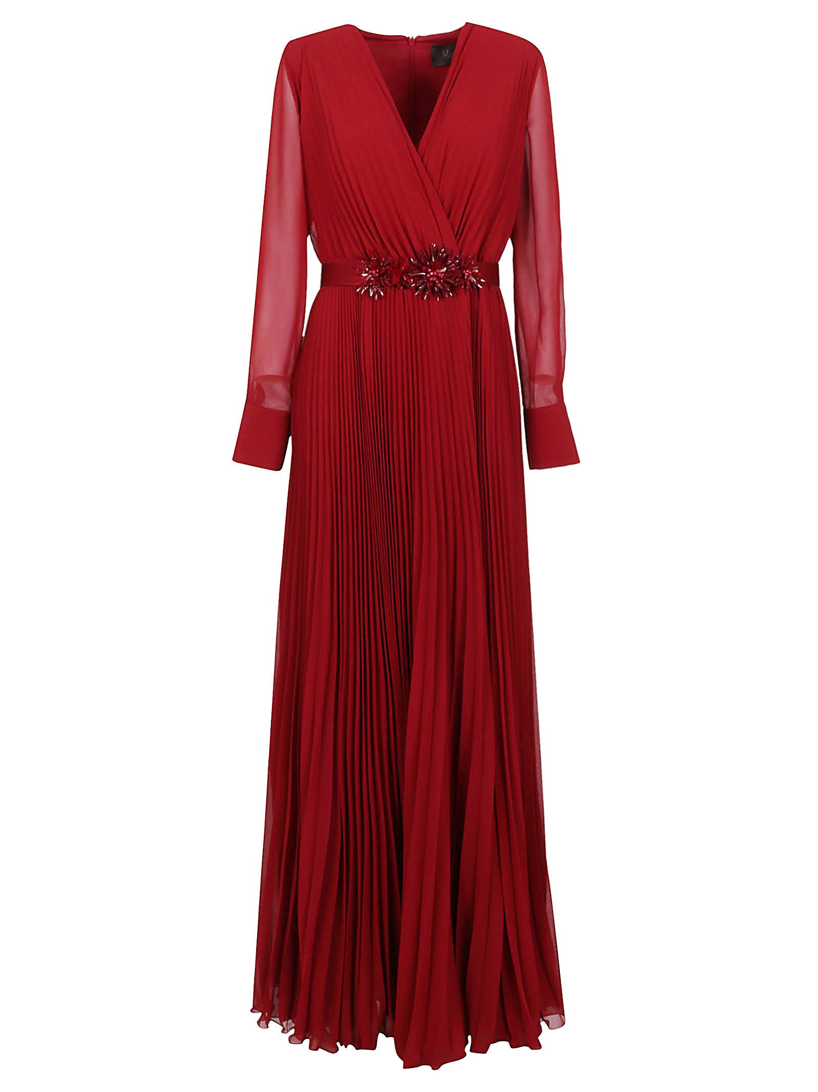 Red Technical Fabric Dress