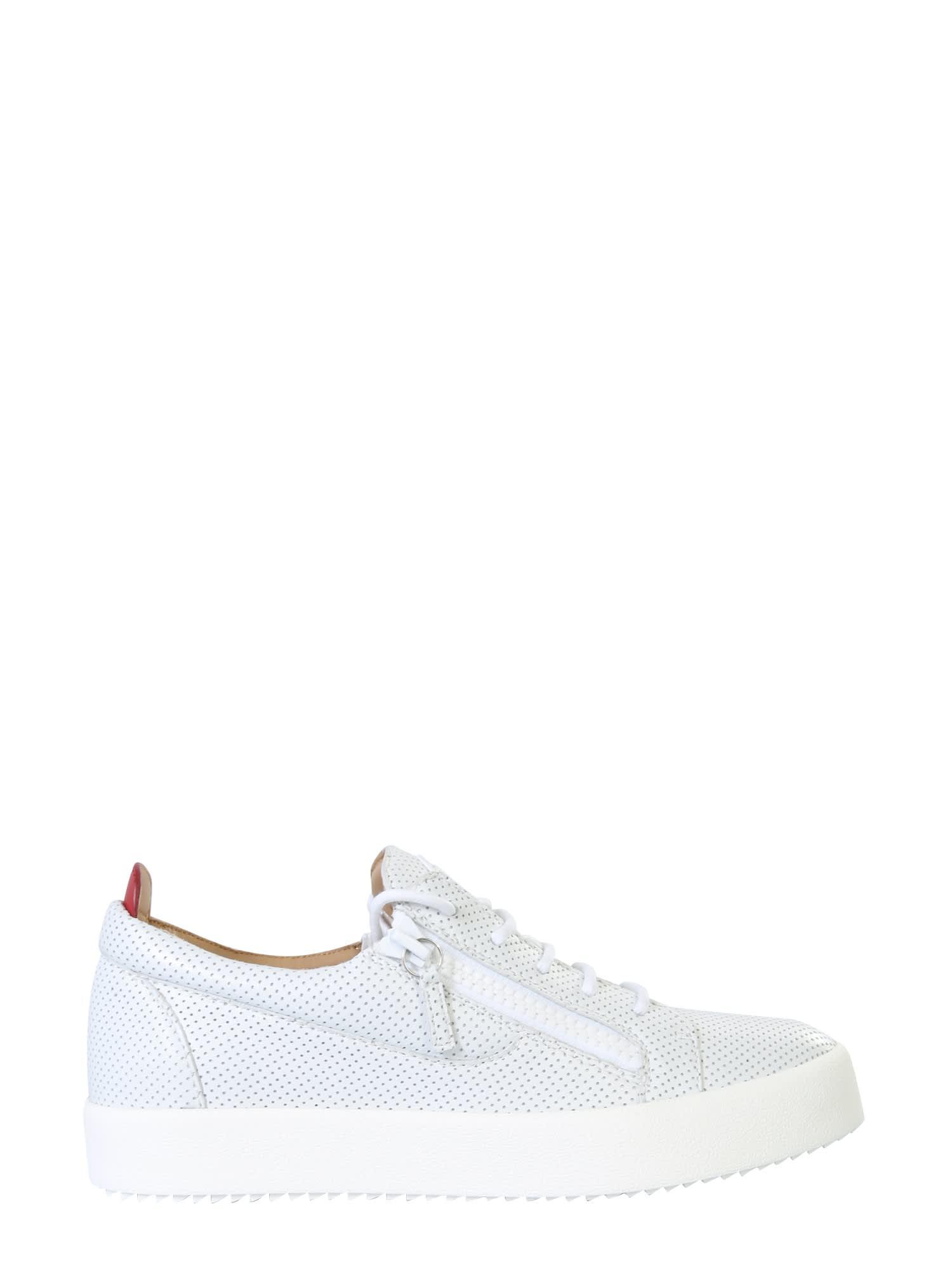 Giuseppe Zanotti Perforated Sneakers