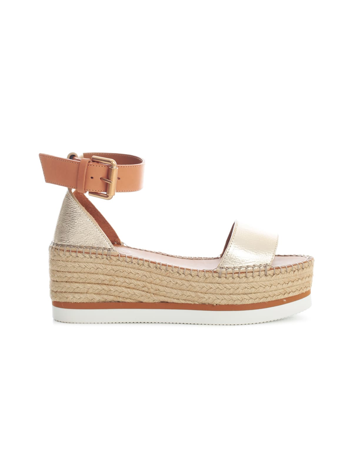 See By Chloé GLYN 50MM ESPADRILLES W/BUCKLE ON ANKLE