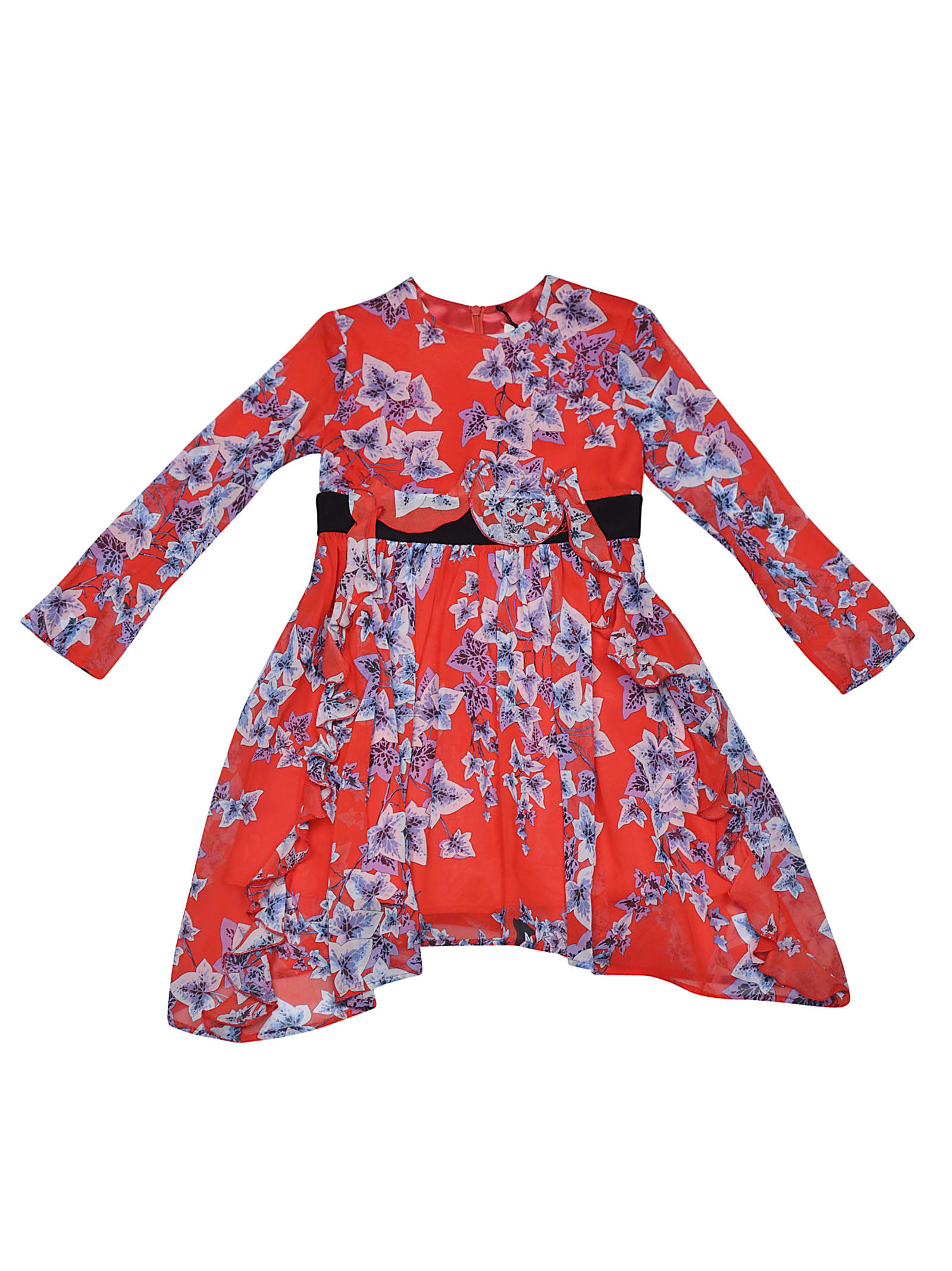 Photo of  Philosophy di Lorenzo Serafini Kids Floral Dress- shop Philosophy di Lorenzo Serafini Kids  online sales