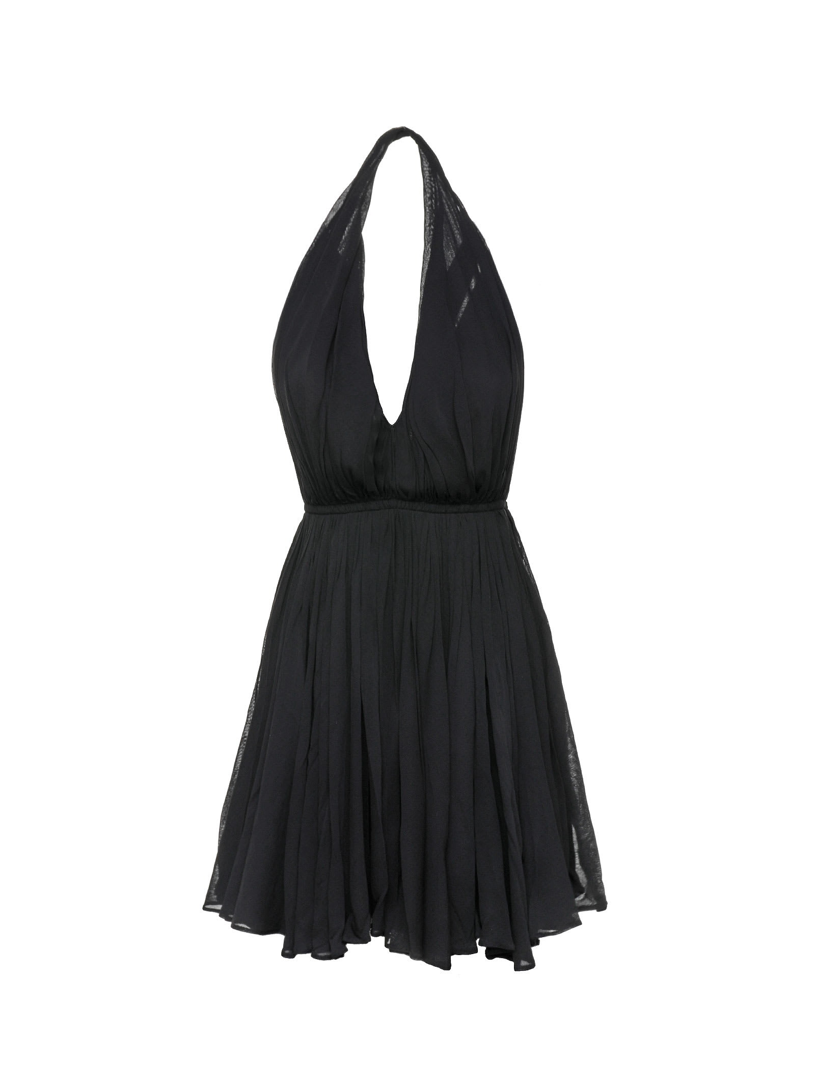 Saint Laurent Saint Laurent Halterneck Mini Dress