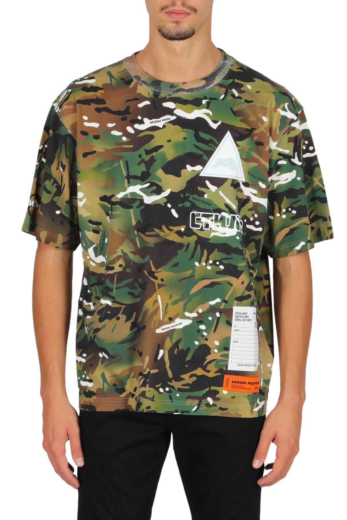 Heron Preston Ss T-shirt Reg
