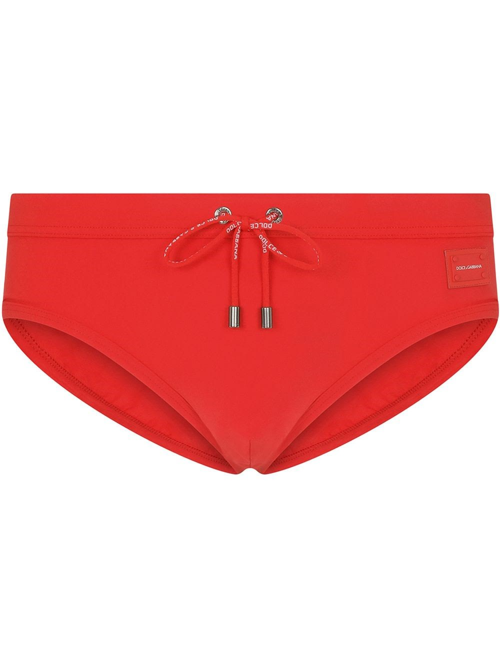 Dolce & Gabbana Briefs RED SWIM BRIEF WITH LOGO