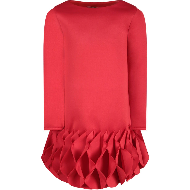 Nikolia Red cycle Girl Dress