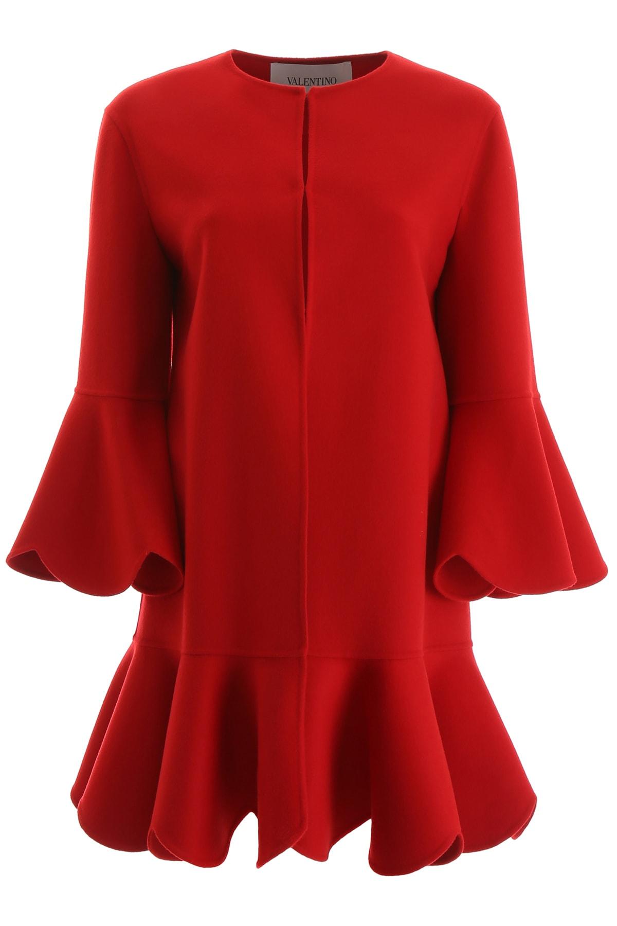 Photo of  Valentino Scallop Cape- shop Valentino jackets online sales