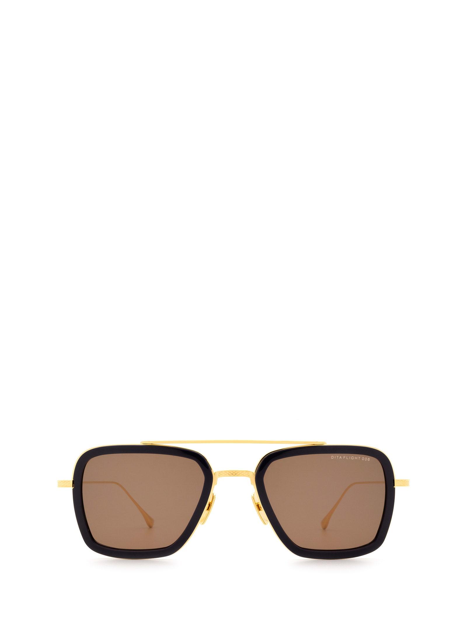 Dita Dita 7806-d Navy & Gold Sunglasses