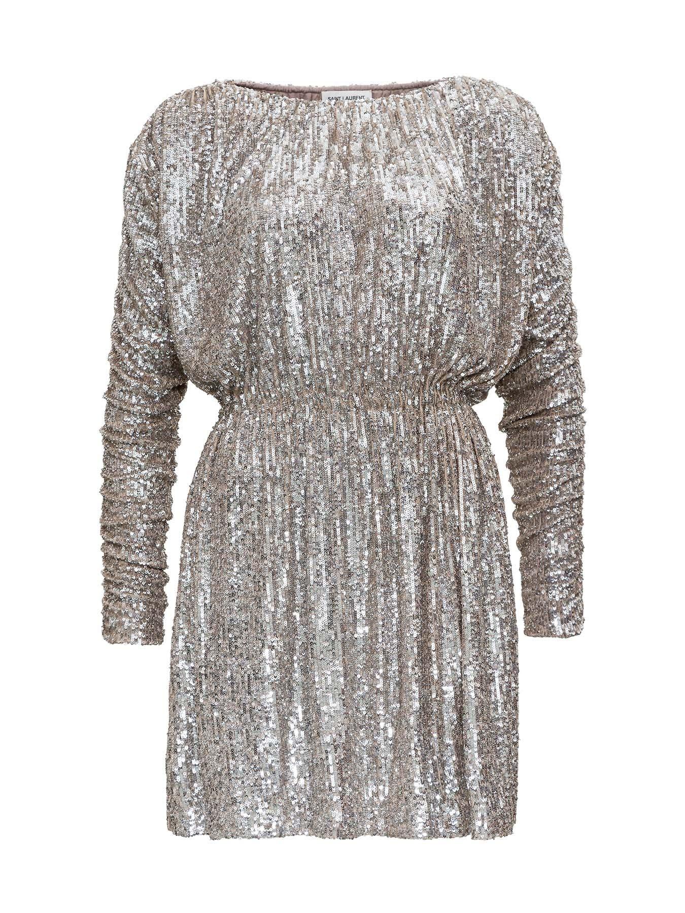 Saint Laurent Sequined Dress