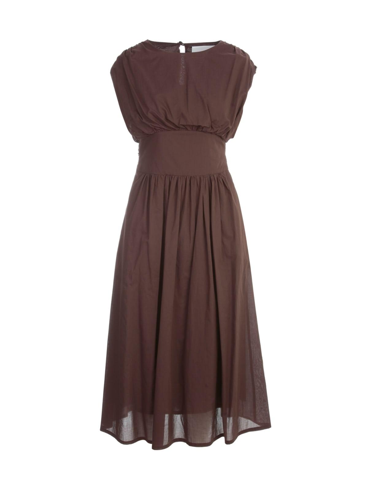 Erika Cavallini LUANA COTTON SLEEVELESS DRESS W/BELT