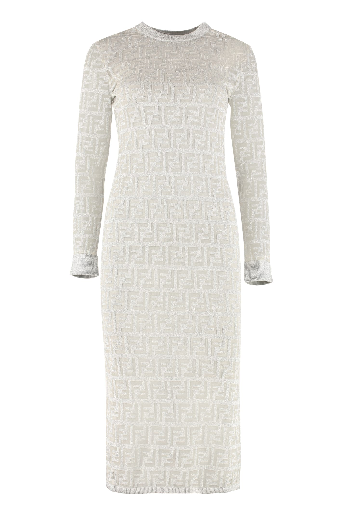 Buy Fendi Lurex Knit Dress online, shop Fendi with free shipping