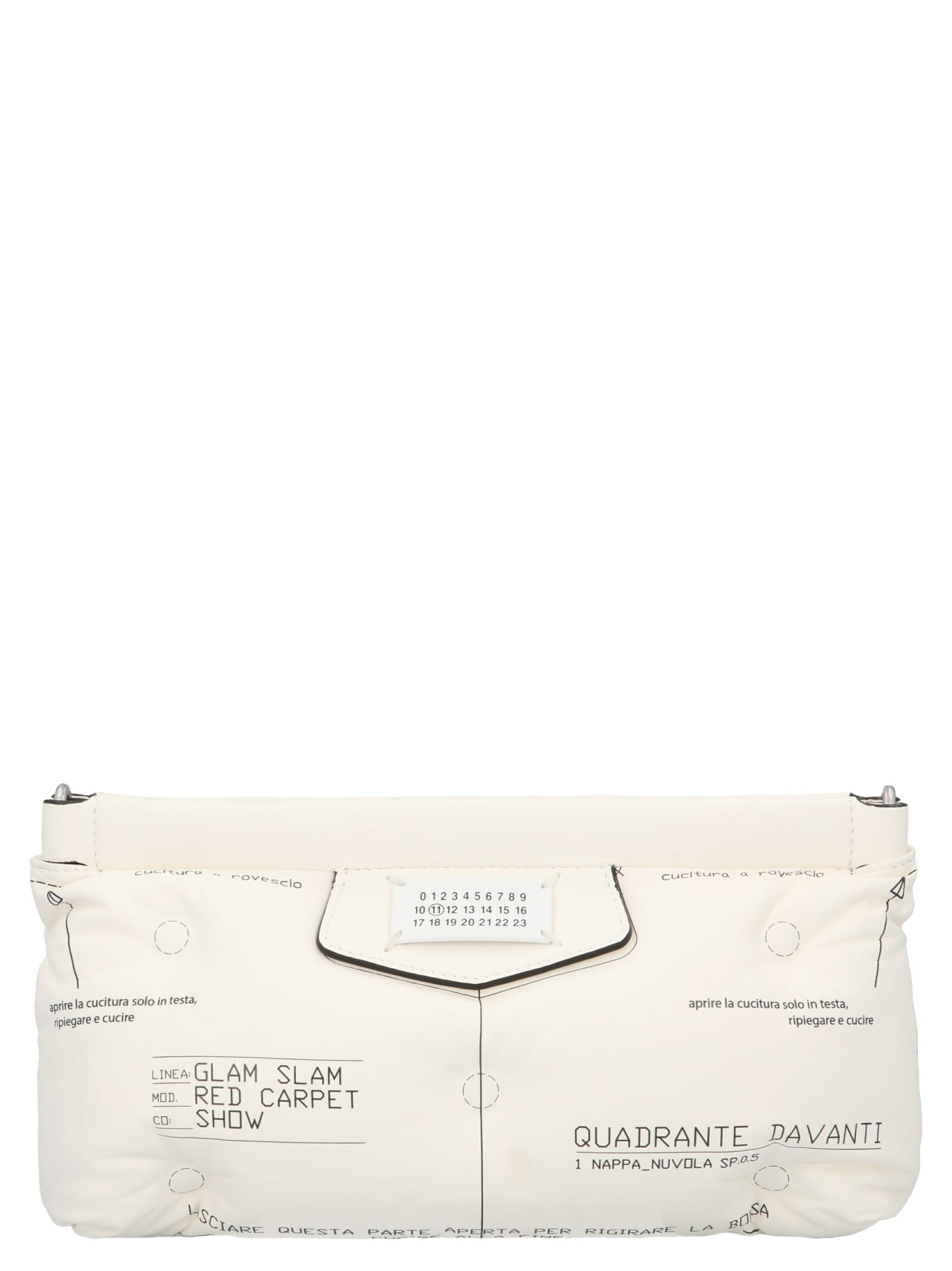 MAISON MARGIELA RED CARPET BAG